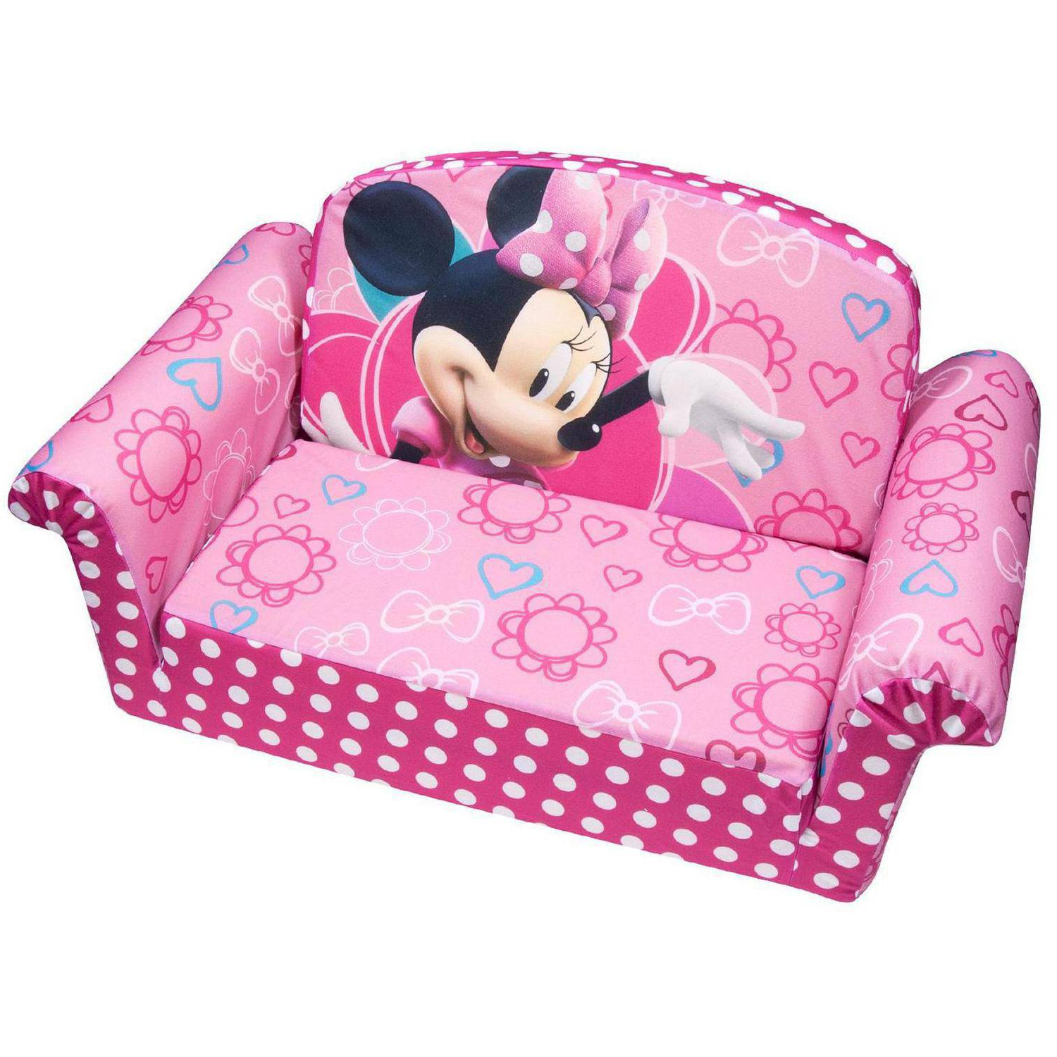 2019 Marshmallow Furniture, Children's 2 In 1 Flip Open Foam Sofa Intended For Toddler Sofa Chairs (View 2 of 20)