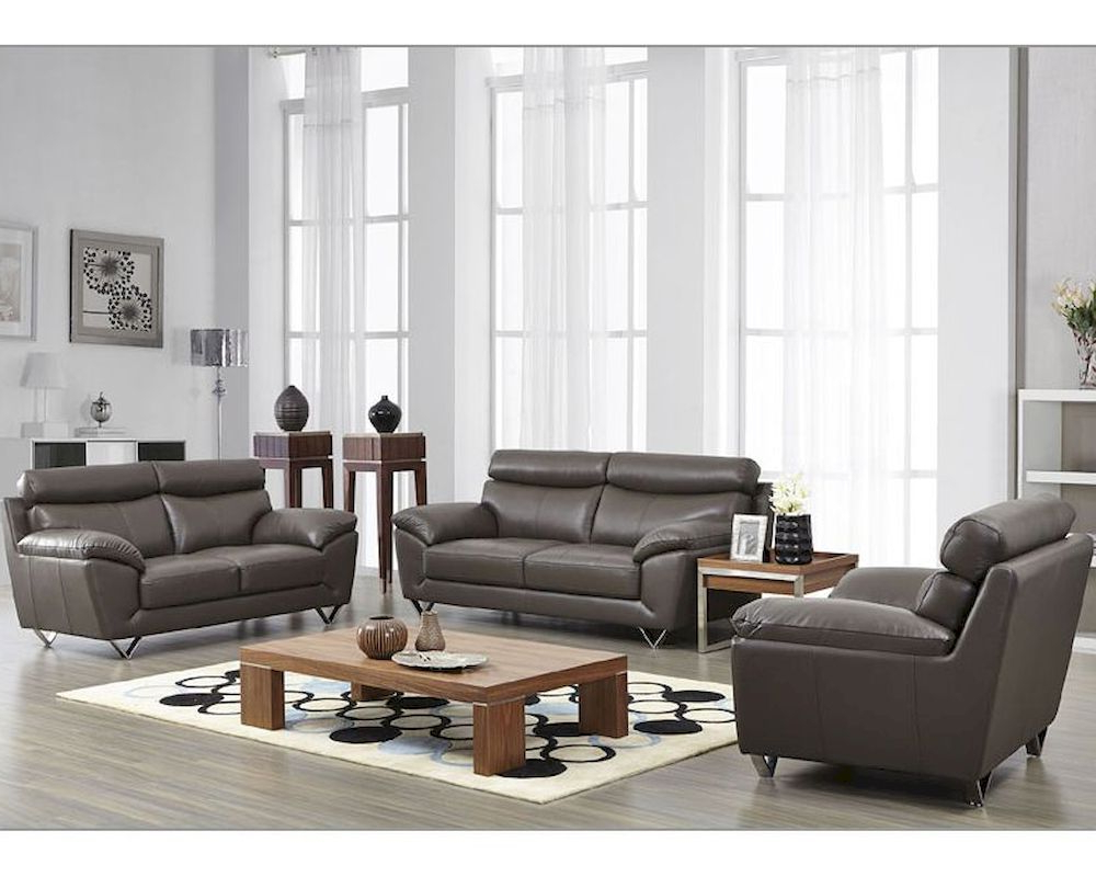 2019 Sofa Loveseat And Chair Set For Modern Leather Sofa Loveseat Chair Set Couch – The Modern Leather (Gallery 14 of 20)