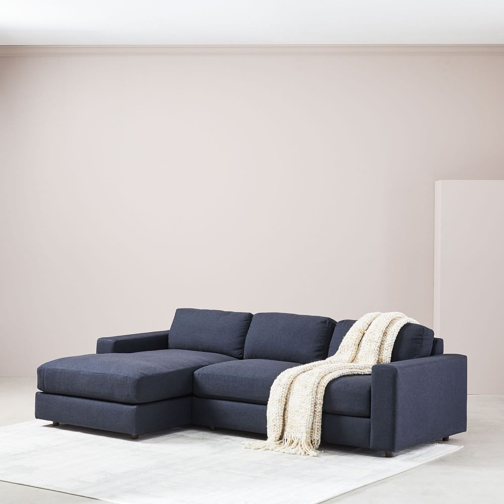 2019 Urban 2 Piece Chaise Sectional – Small In  (View 2 of 20)