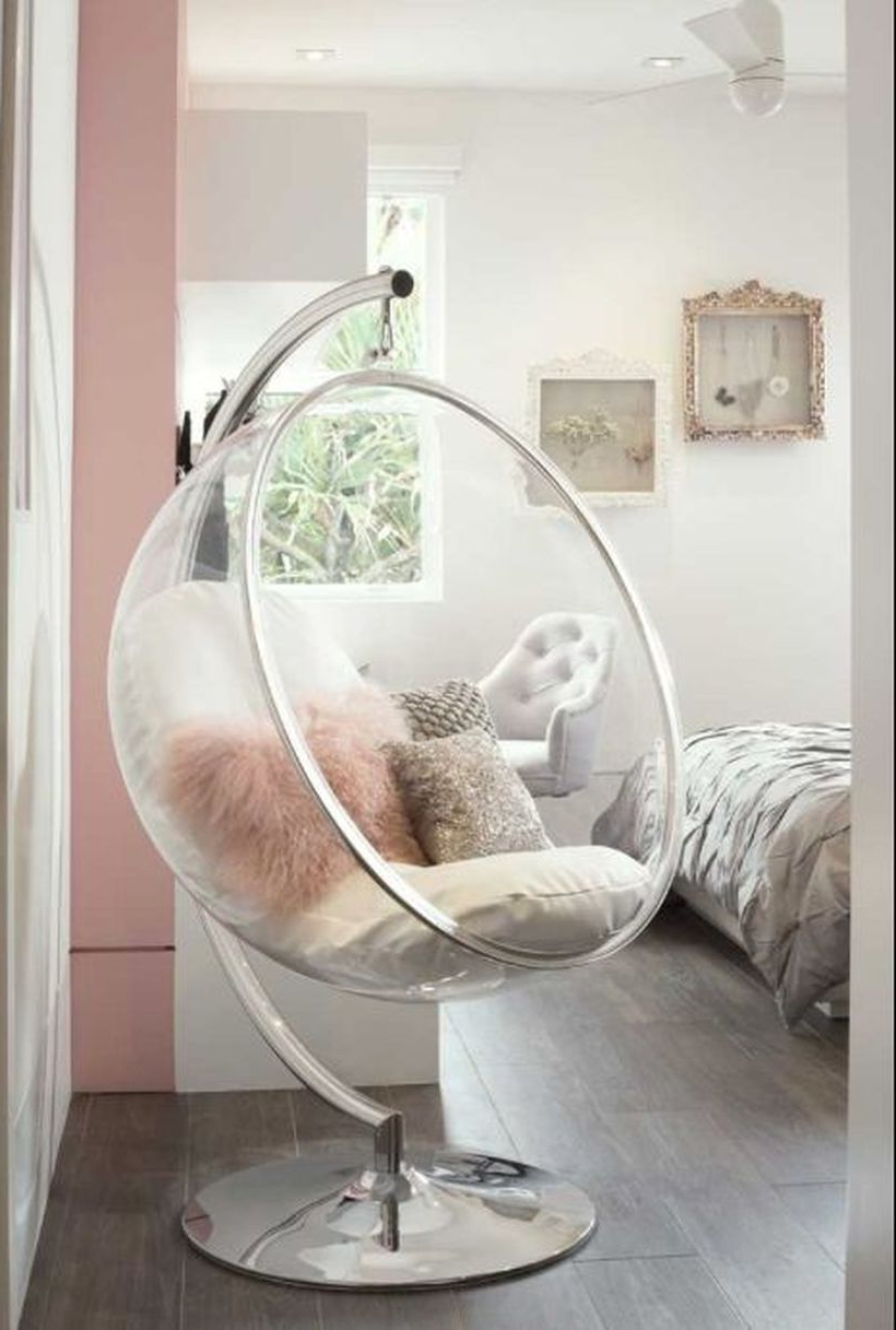 40 Cool Hanging Swing Chair With Stand For Indoor Decor (View 13 of 20)