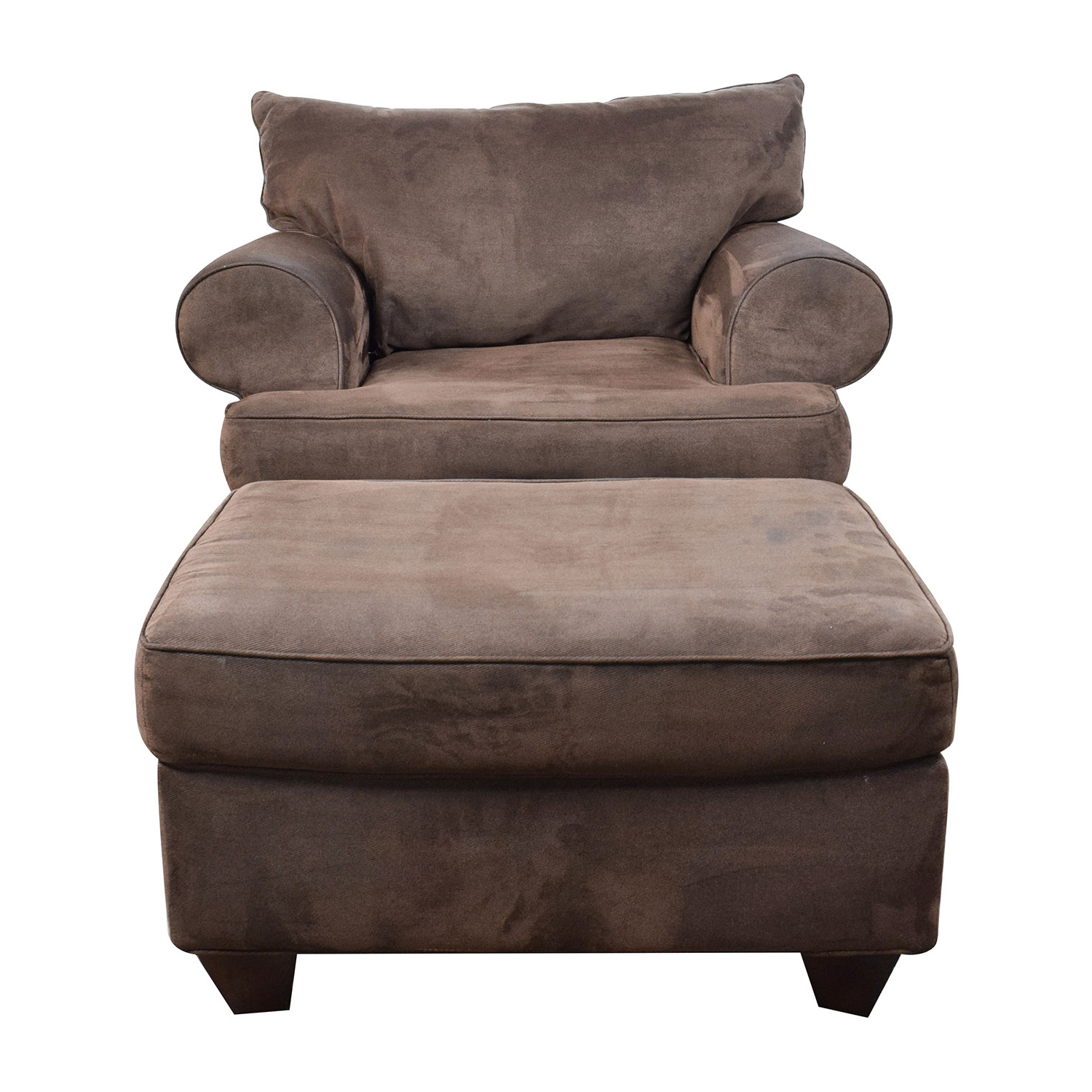 [%67% Off – Dark Brown Sofa Chair With Ottoman / Chairs Inside Famous Sofa Chair With Ottoman|Sofa Chair With Ottoman Intended For Most Current 67% Off – Dark Brown Sofa Chair With Ottoman / Chairs|Best And Newest Sofa Chair With Ottoman Inside 67% Off – Dark Brown Sofa Chair With Ottoman / Chairs|Most Popular 67% Off – Dark Brown Sofa Chair With Ottoman / Chairs Pertaining To Sofa Chair With Ottoman%] (View 1 of 20)