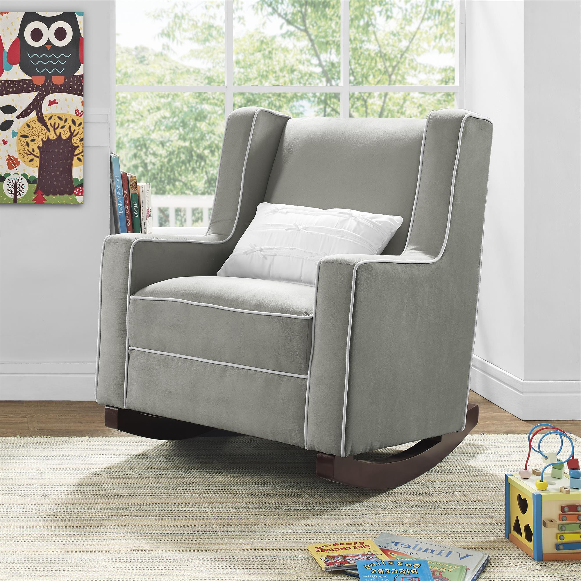 Abbey Swivel Glider Recliners Throughout 2018 Dorel Living (Gallery 2 of 20)