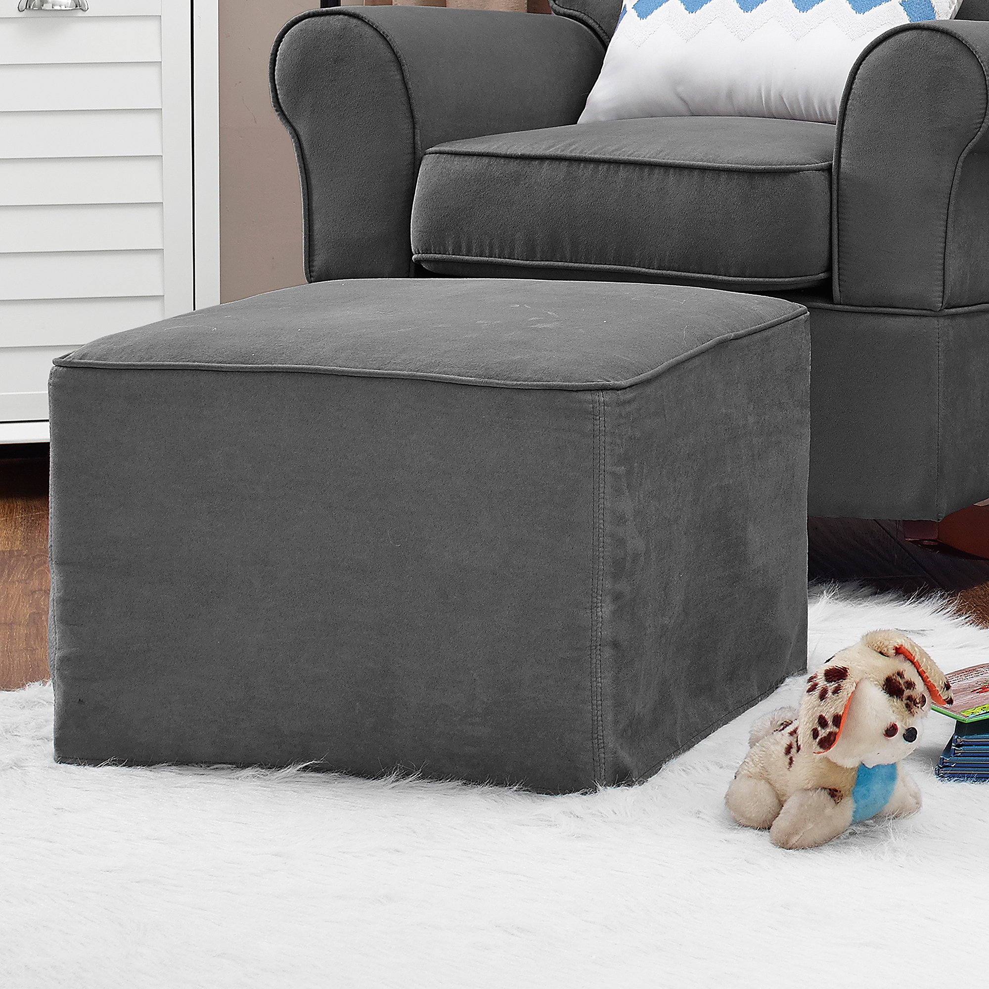 Abbey Swivel Glider Recliners With Fashionable Baby Relax Abby Rocker Gray – Walmart (View 7 of 20)