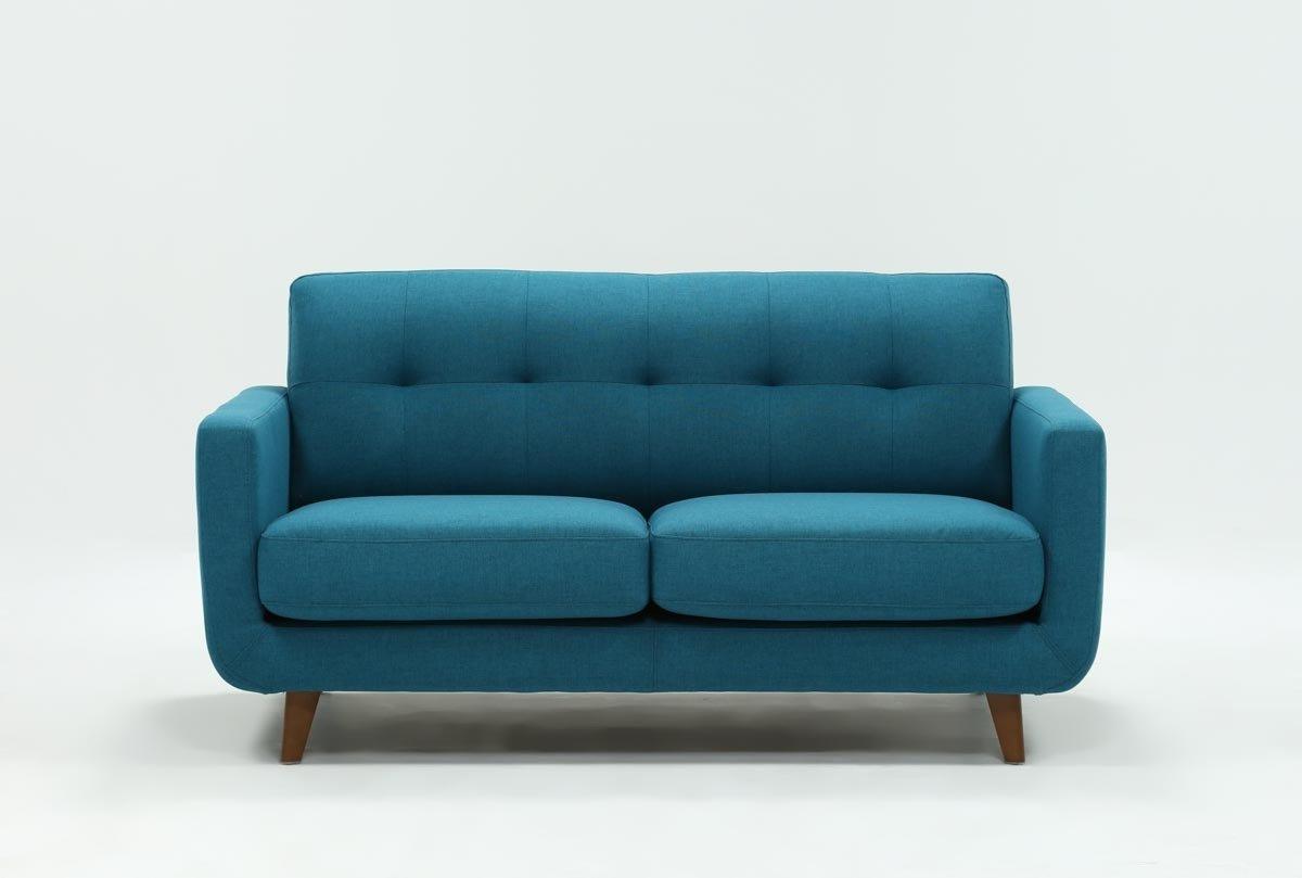Allie Dark Grey Sofa Chairs Inside Well Known Allie Jade Loveseat Living Spaces Teal Sleeper Kmart Sofa Hide (View 11 of 20)