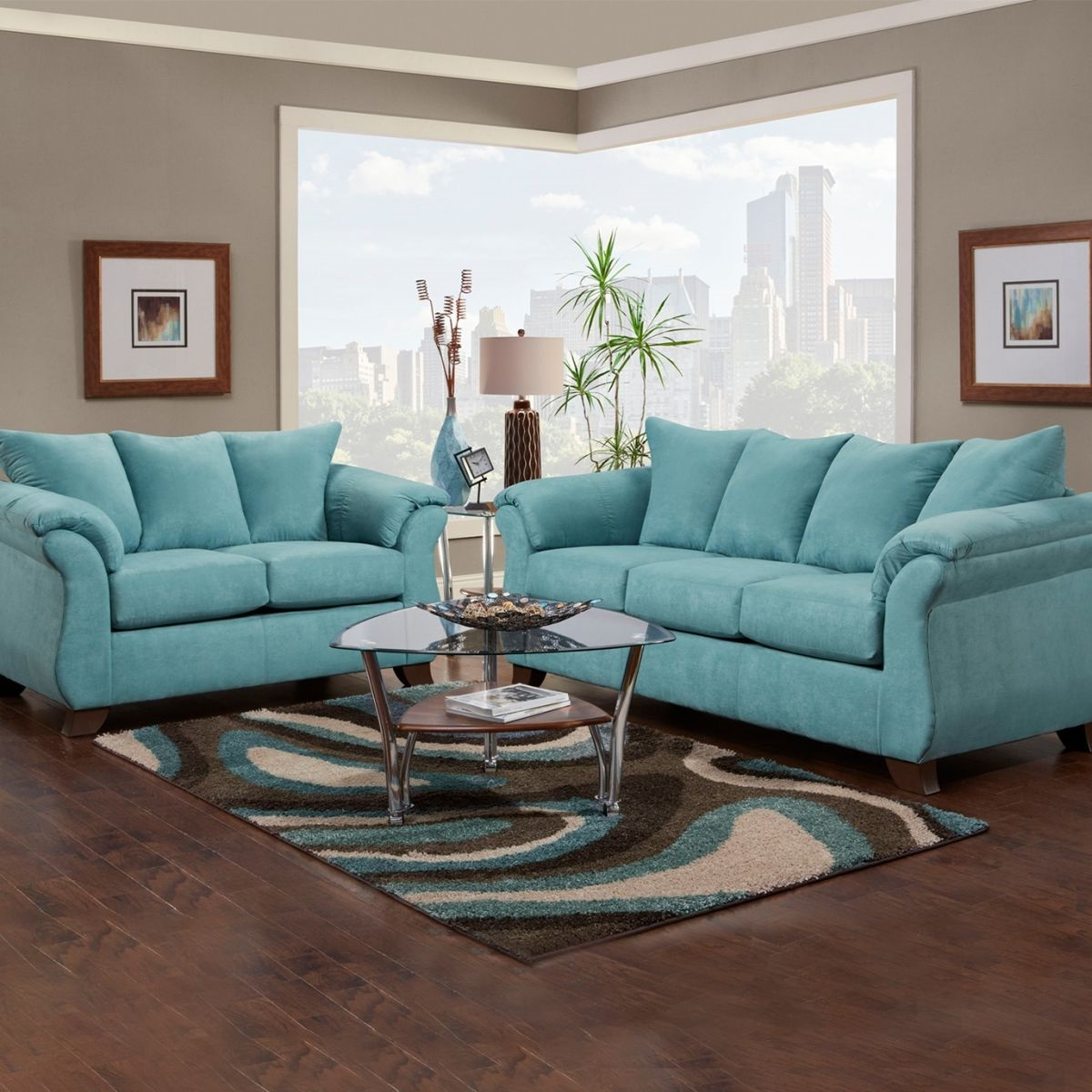Allie Jade Sofa Chairs With Most Recent Badcock More Aqua Sleeper Sofa Loveseat Teal Ture Kmart High Quality (View 5 of 20)