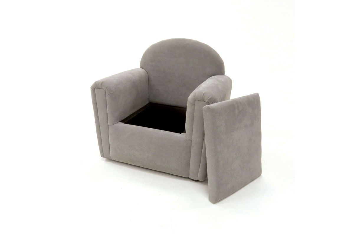 Amari Swivel Accent Chairs In Widely Used Amari Hidden Seat Storage Youth Accent Chair In Grey At Gardner White (View 4 of 20)