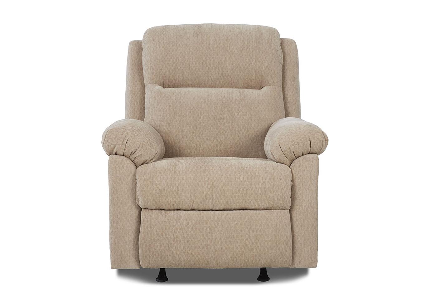 Amari Swivel Accent Chairs Inside Trendy Squan Furniture Amari Doe Beige Power Reclining Fabric Chair (Gallery 14 of 20)