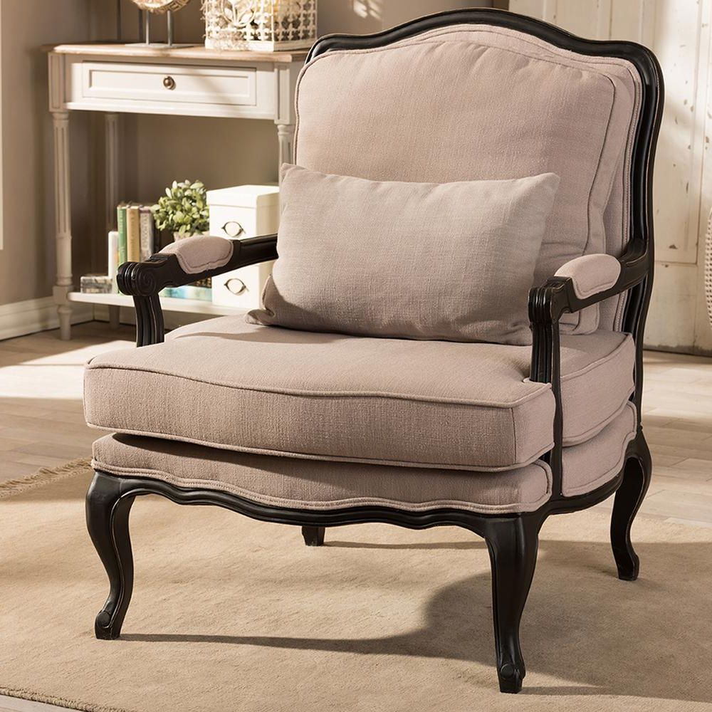 Amari Swivel Accent Chairs Pertaining To Current Chevron – Accent Chairs – Chairs – The Home Depot (Gallery 17 of 20)
