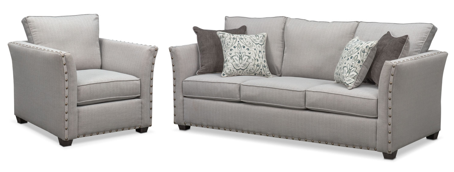 American Signature Furniture Within Sofa And Chair Set (View 2 of 20)