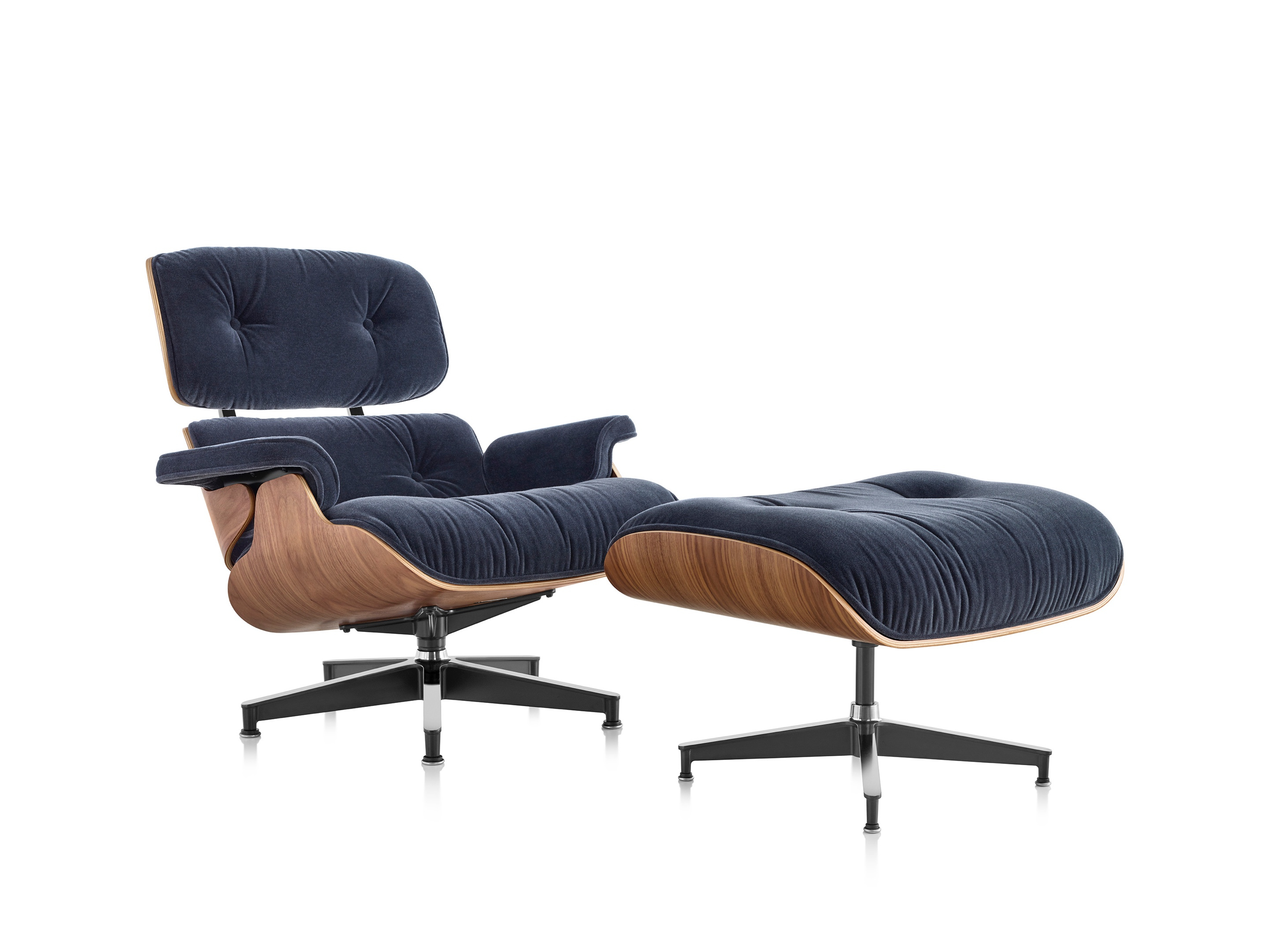 Ames Arm Sofa Chairs Within Latest Eames® Lounge Chair And Ottoman – Herman Miller (View 5 of 20)