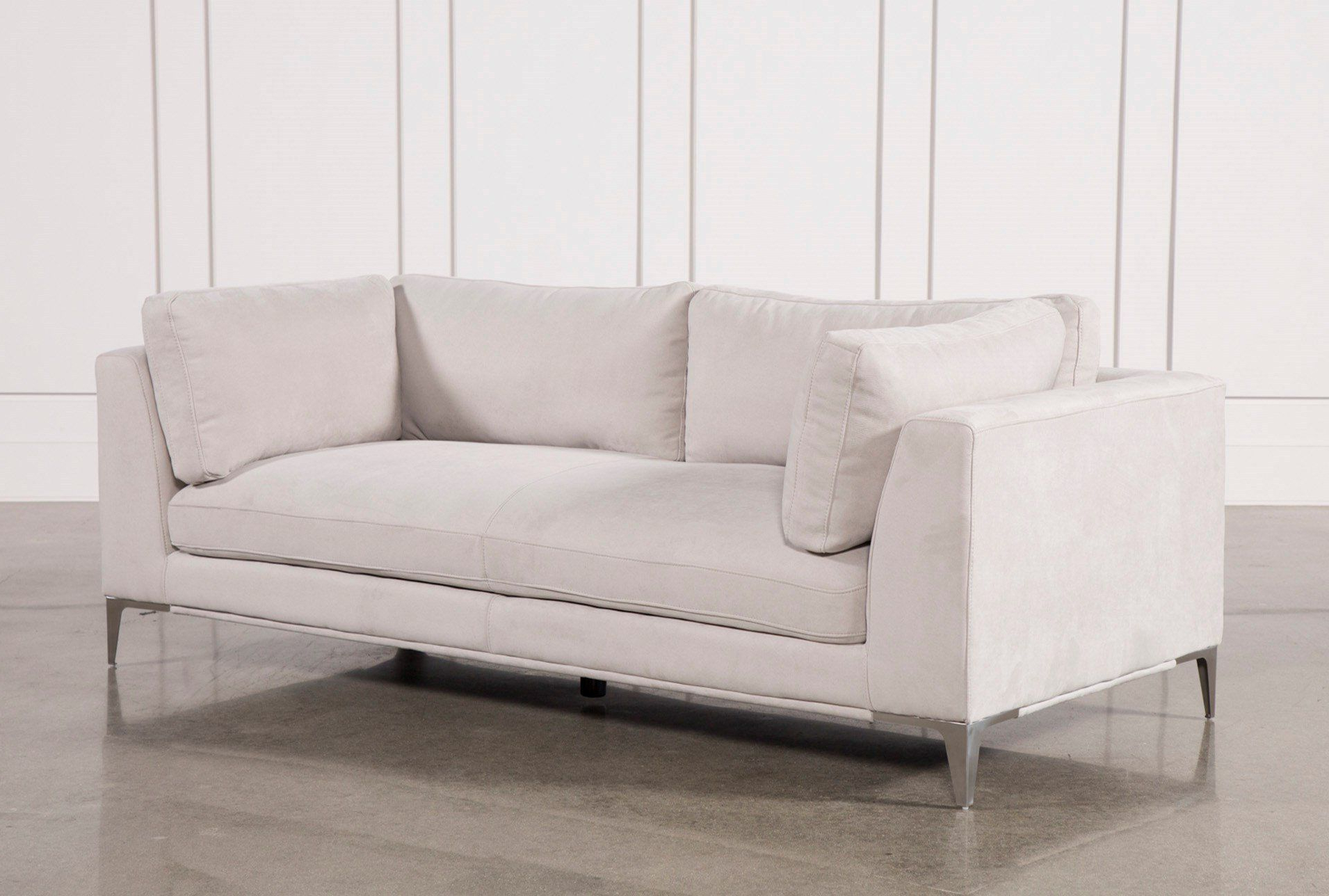 Apollo Light Grey Sofa W/2 Pillows For Trendy Escondido Sofa Chairs (Gallery 3 of 20)
