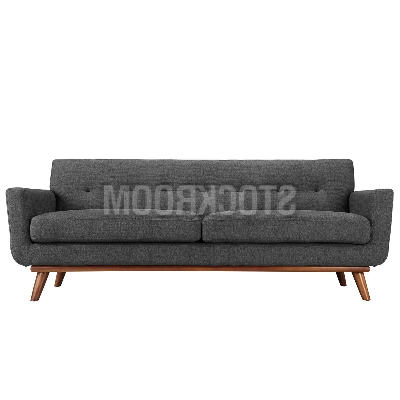 Aquarius Dark Grey Sofa Chairs With Preferred Aquarius Fabric Sofa 2 Seater : Stockroom Hong Kong Contemporary (Gallery 5 of 20)
