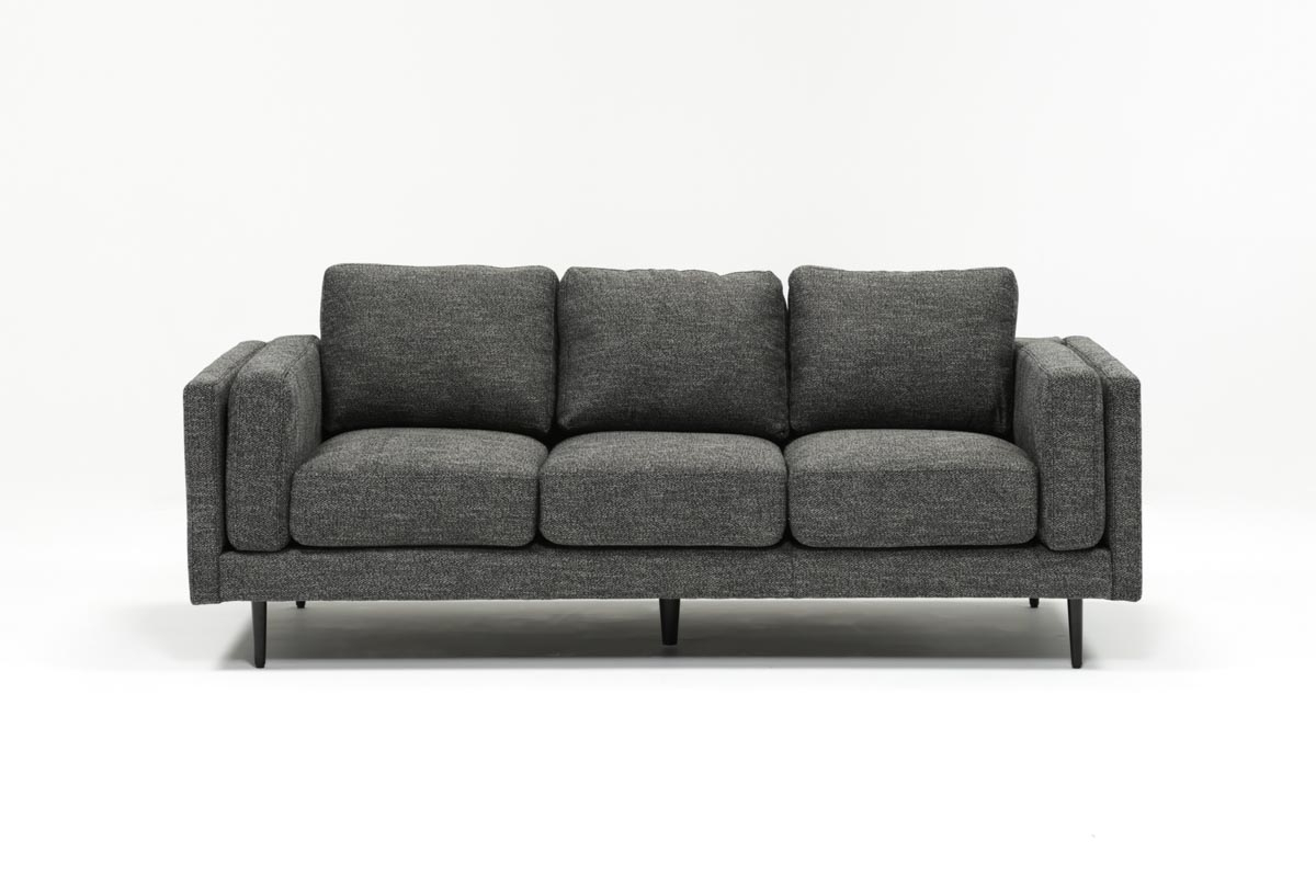 Aquarius Dark Grey Sofa (View 1 of 20)