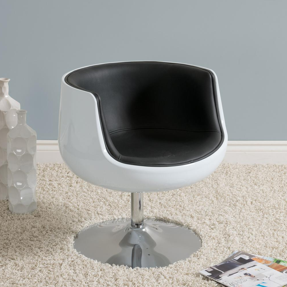 Armen Living Truly Grey Velvet And Black Velvet Piping Contemporary Throughout 2019 Katrina Grey Swivel Glider Chairs (View 13 of 20)