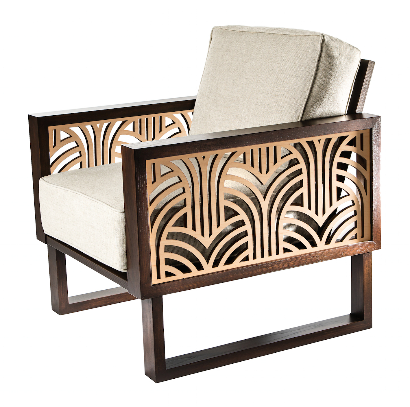 Art Deco Sofa And Chairs Regarding Best And Newest 13 Art Deco Chairs – Art Deco Furniture (View 3 of 20)