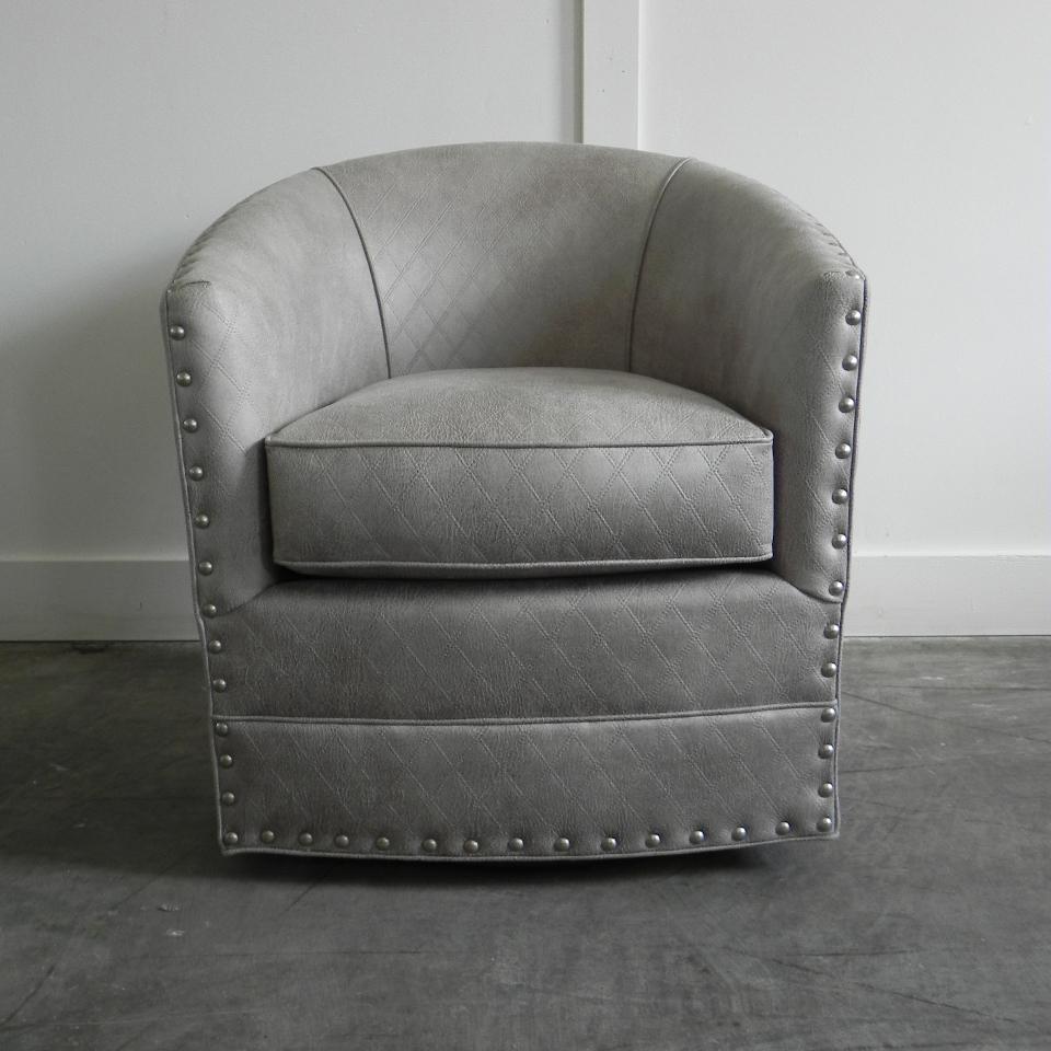 Aspen Swivel Chairs In 2019 Burke Swivel Chair With Nails (Gallery 20 of 20)