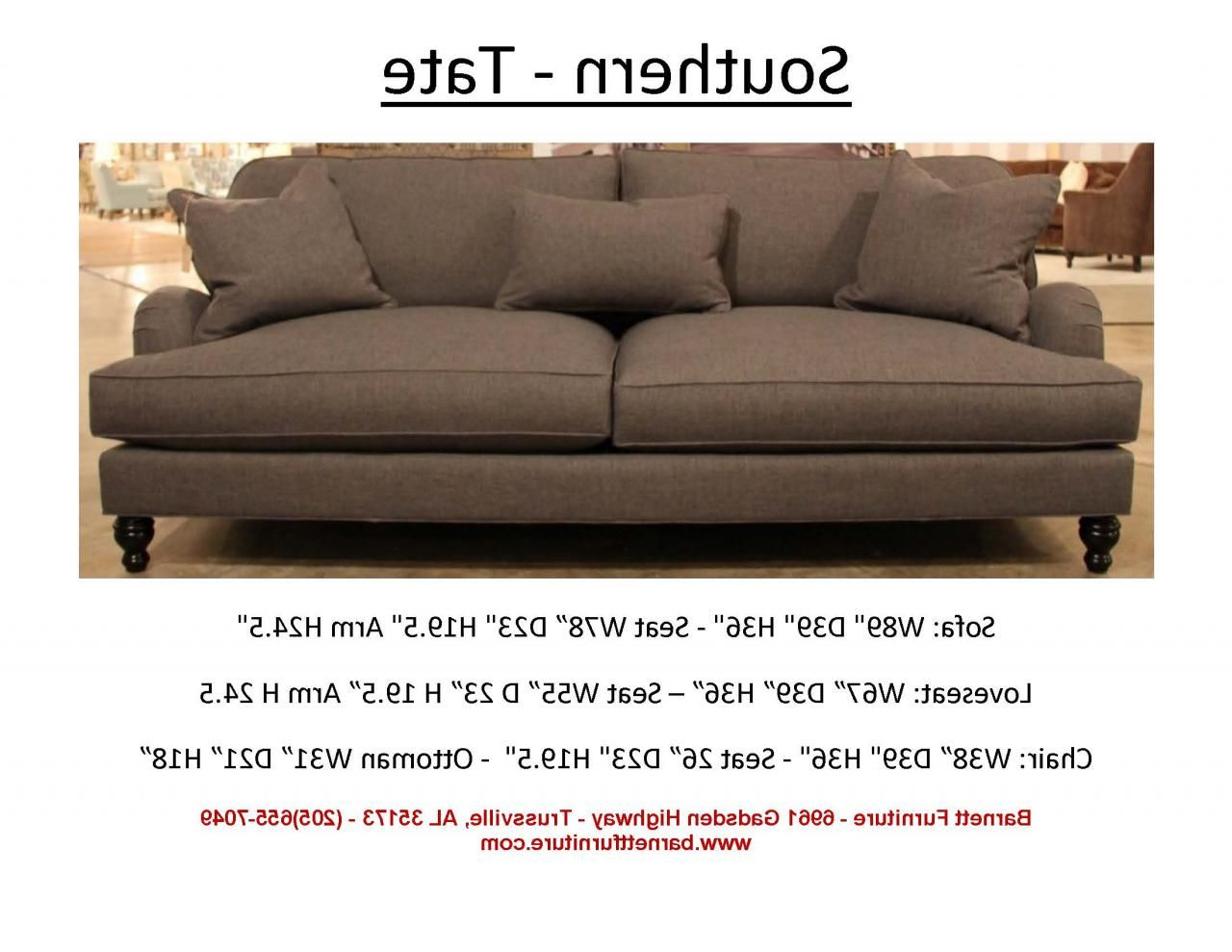 Average Size Pertaining To Tate Ii Sofa Chairs (Gallery 14 of 20)