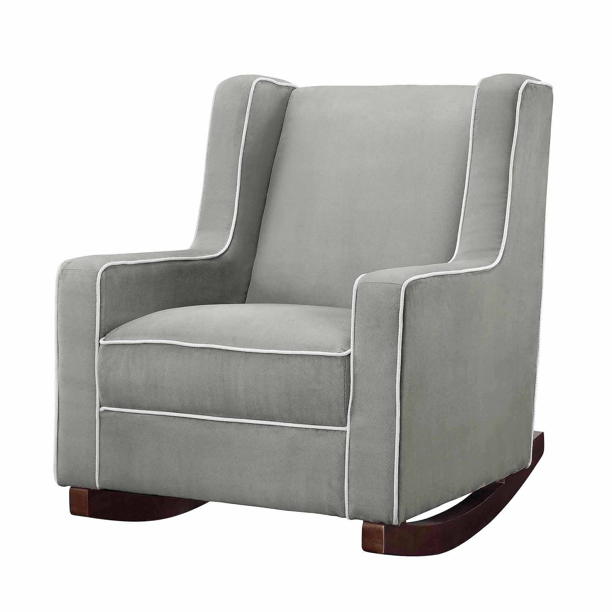 Baby Relax Abby Rocker Gray – Walmart For Most Popular Abbey Swivel Glider Recliners (Gallery 1 of 20)