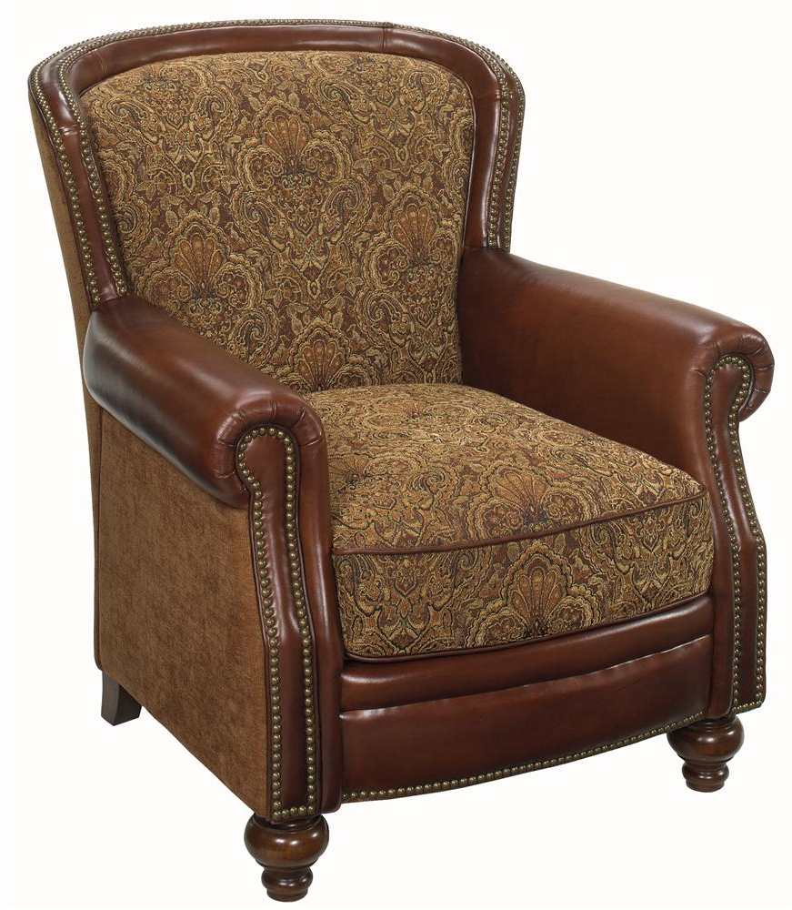 Bailey Roll Arm Skirted Swivel Gliders Intended For Best And Newest Hooker Furniture Club Chairs Traditional Club Chair (Gallery 20 of 20)