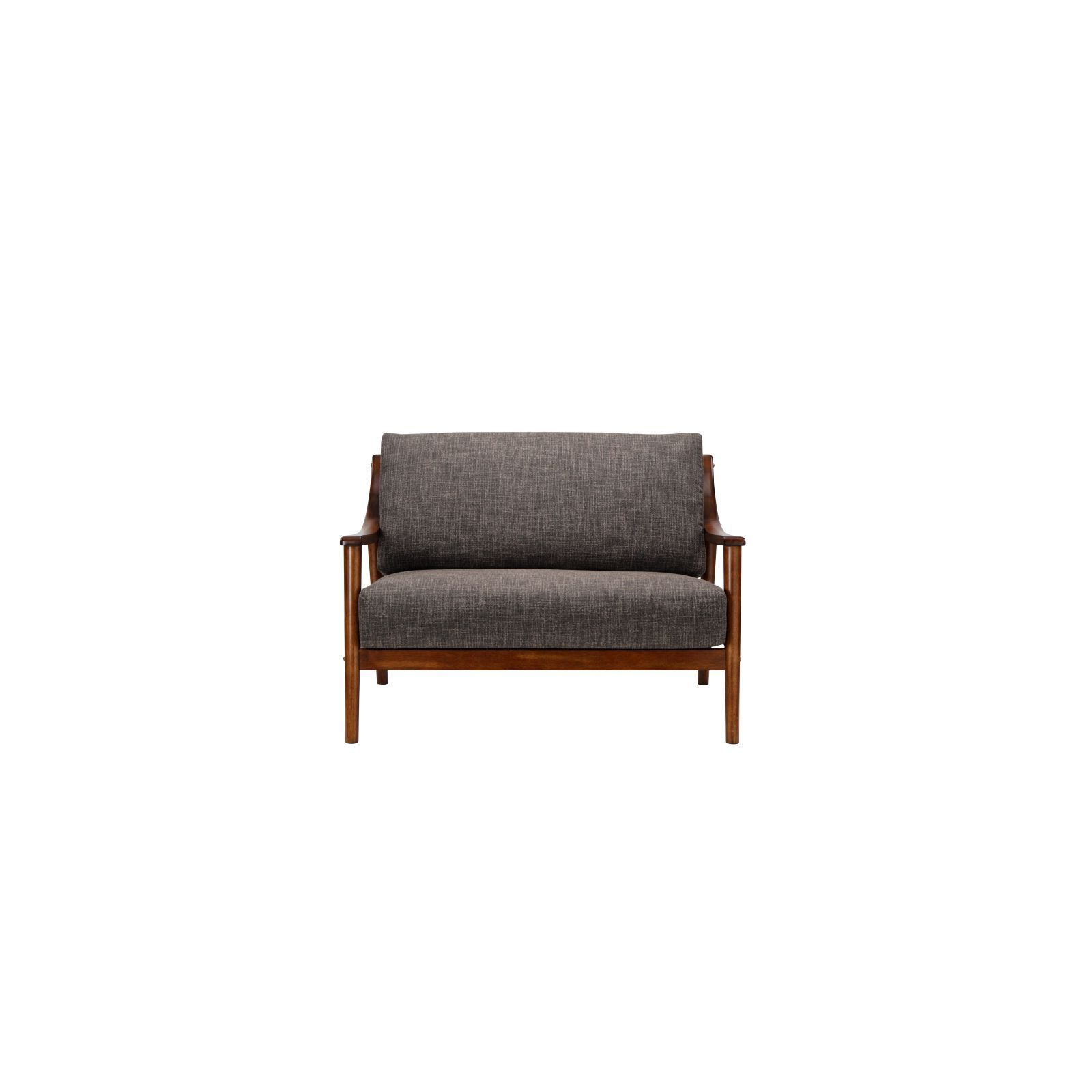 Best And Newest Brennan Sofa Chairs Inside Brennan 2 Seater (fab) Lava Fabric Sofa – Sofa & Armchairs (View 13 of 20)
