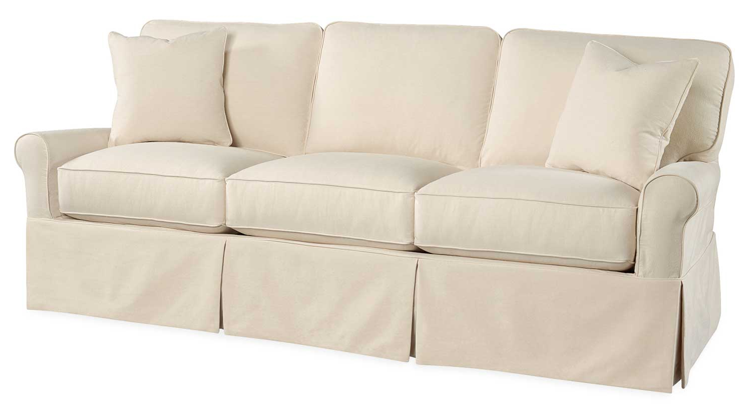 Best And Newest Circle Furniture – Gigi Slipcover Sofa (View 4 of 20)