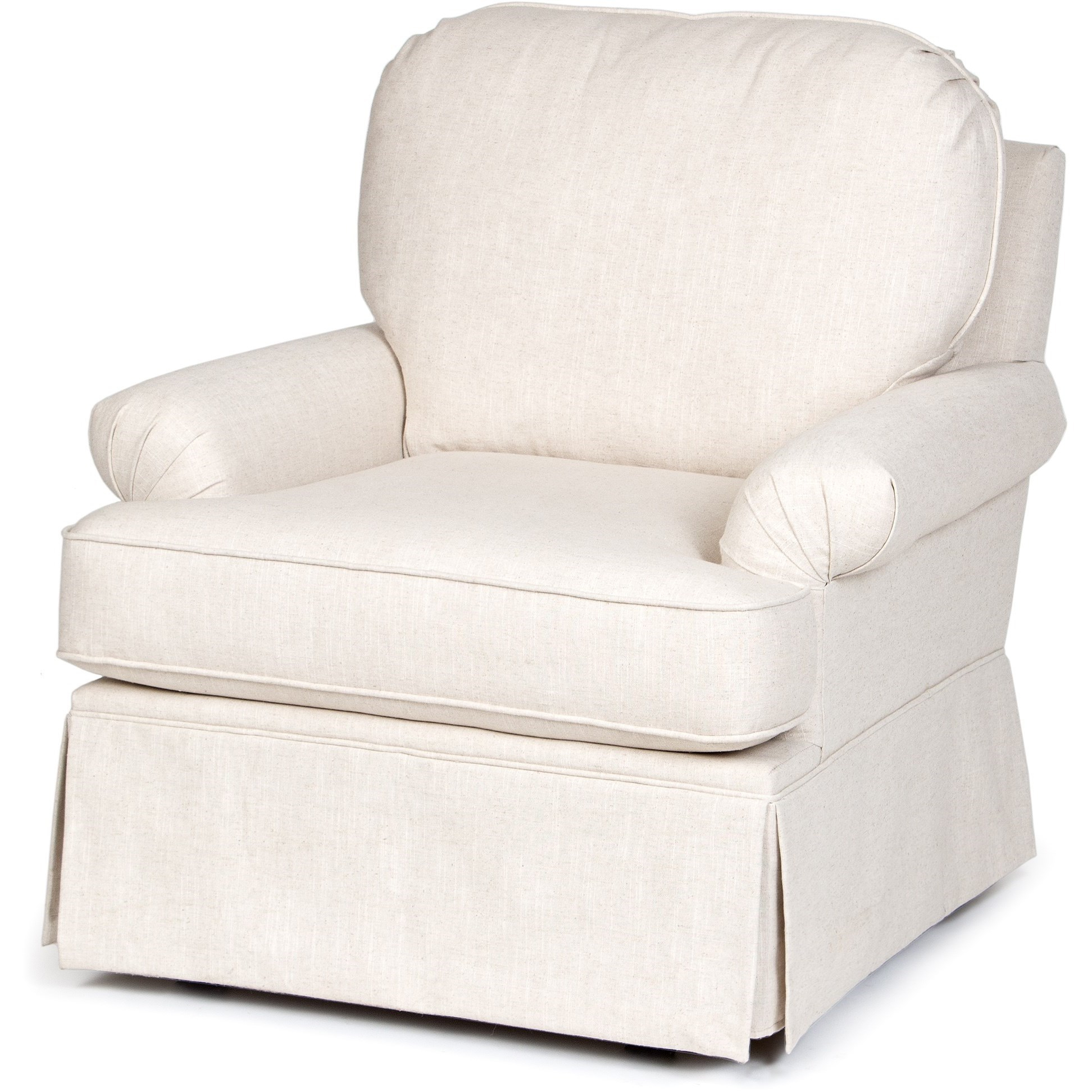 Best And Newest Harbor Grey Swivel Accent Chairs With Regard To Chairs America Accent Chairs And Ottomans Swivel Glider With Skirted (View 6 of 20)