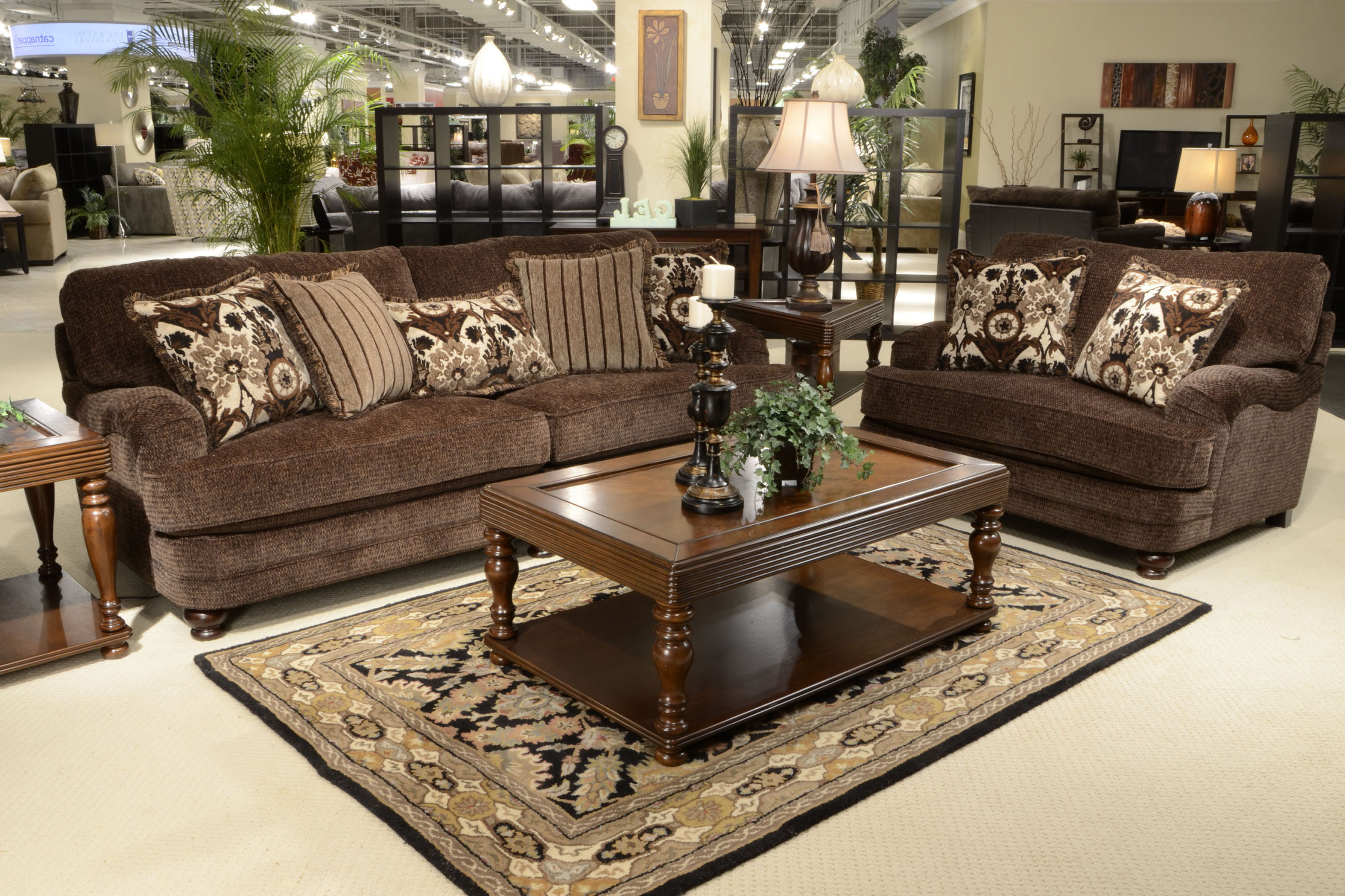 Best And Newest Jackson Furniture Stationary Upholstery Collection Brennan 4438 Inside Brennan Sofa Chairs (View 16 of 20)
