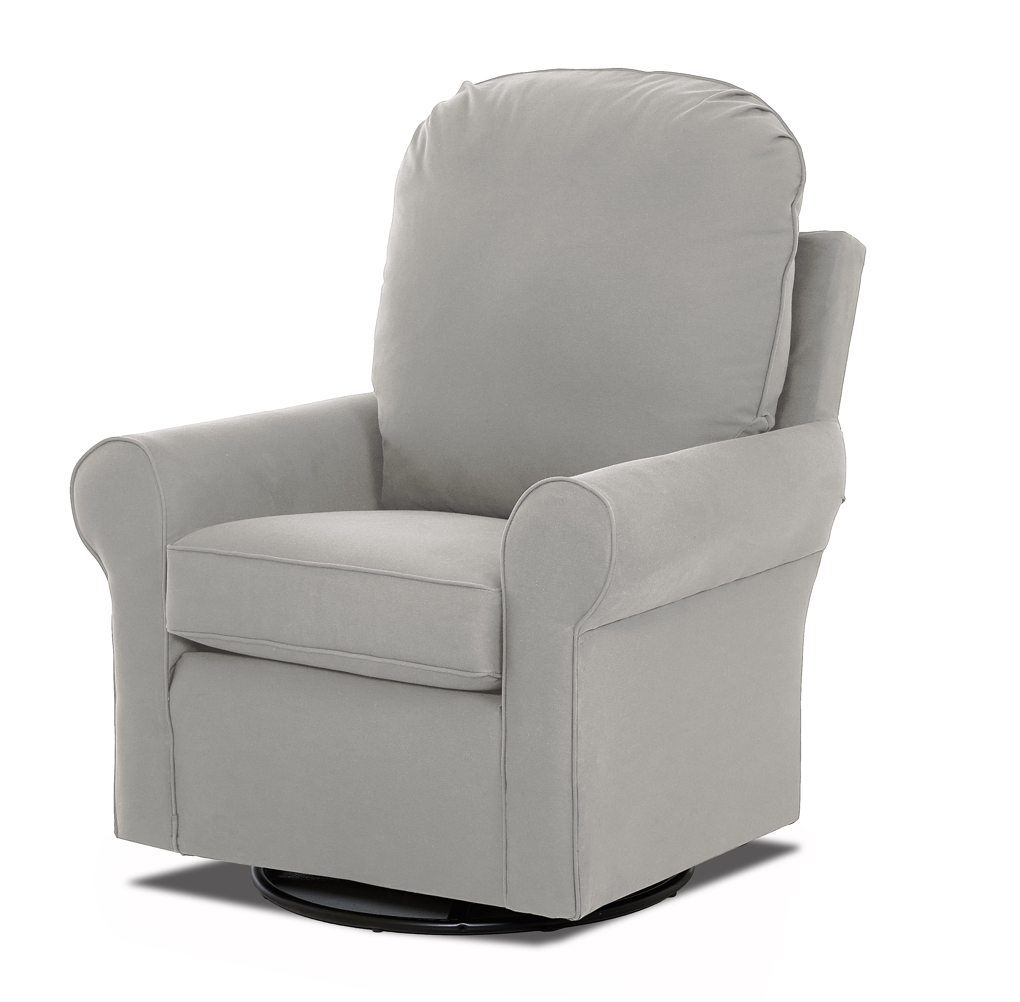 Best And Newest Klaussner Furniture Suffolk Swivel Glider (View 7 of 20)