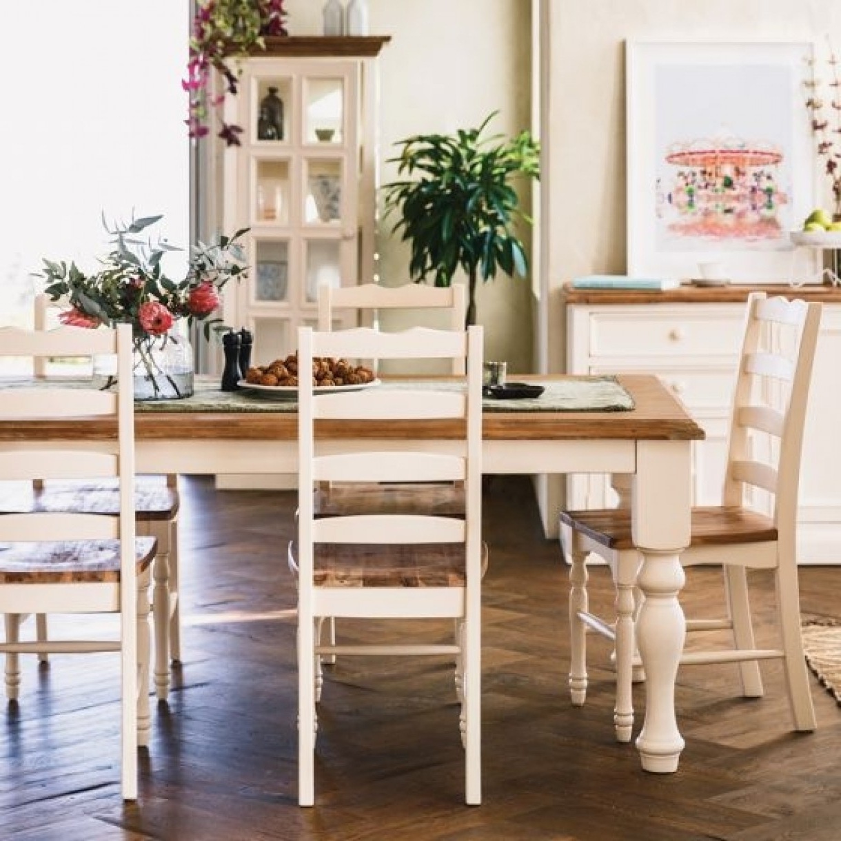 Best And Newest Mansfield Dining Table 2100 With 6 Mansfield Chairs Package Inside Mansfield Beige Linen Sofa Chairs (Gallery 17 of 20)