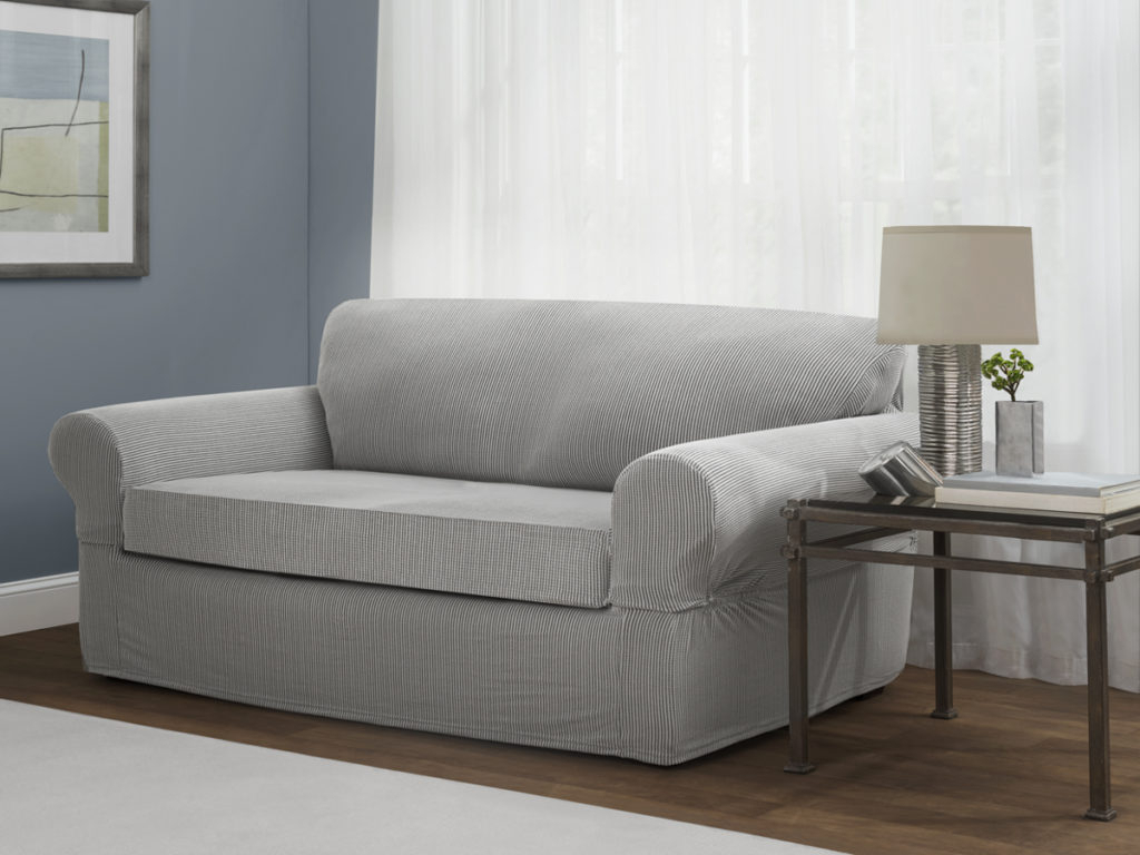 Best And Newest Sofa And Loveseat Slipcovers – Maytex Throughout Slipcovers For Sofas And Chairs (View 4 of 20)