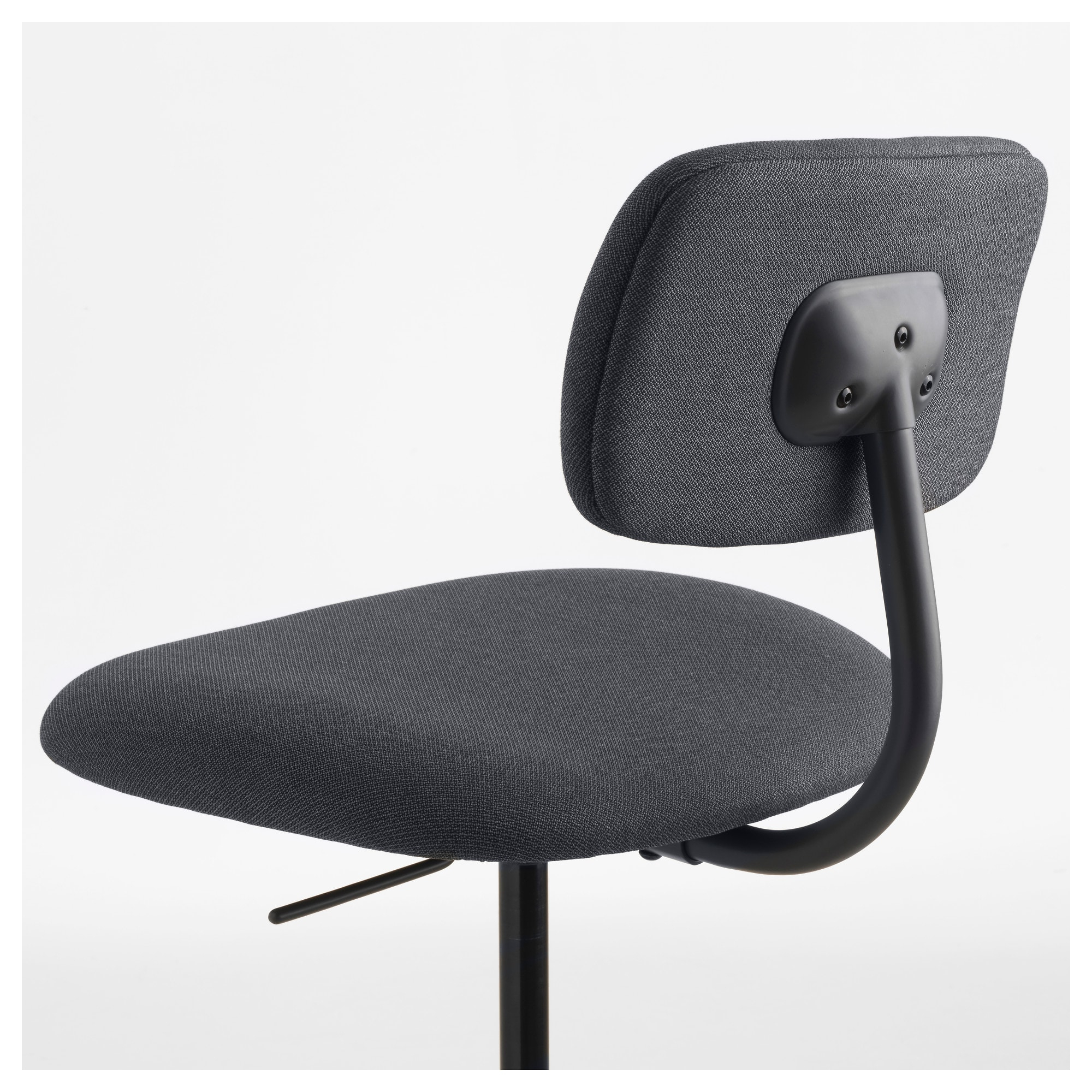 Bleckberget Swivel Chair Idekulla Dark Grey – Ikea With Regard To Fashionable Dark Grey Swivel Chairs (View 4 of 20)