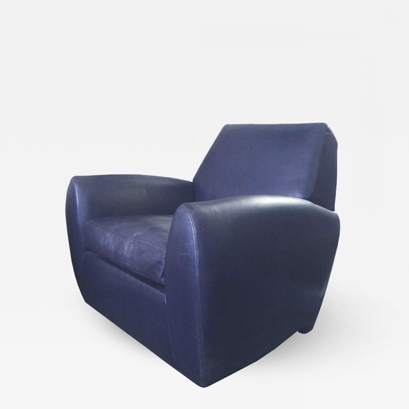 Blue Leather Swivel Chair – Myvaettelwater – With Regard To Favorite Kawai Leather Swivel Chairs (View 11 of 20)