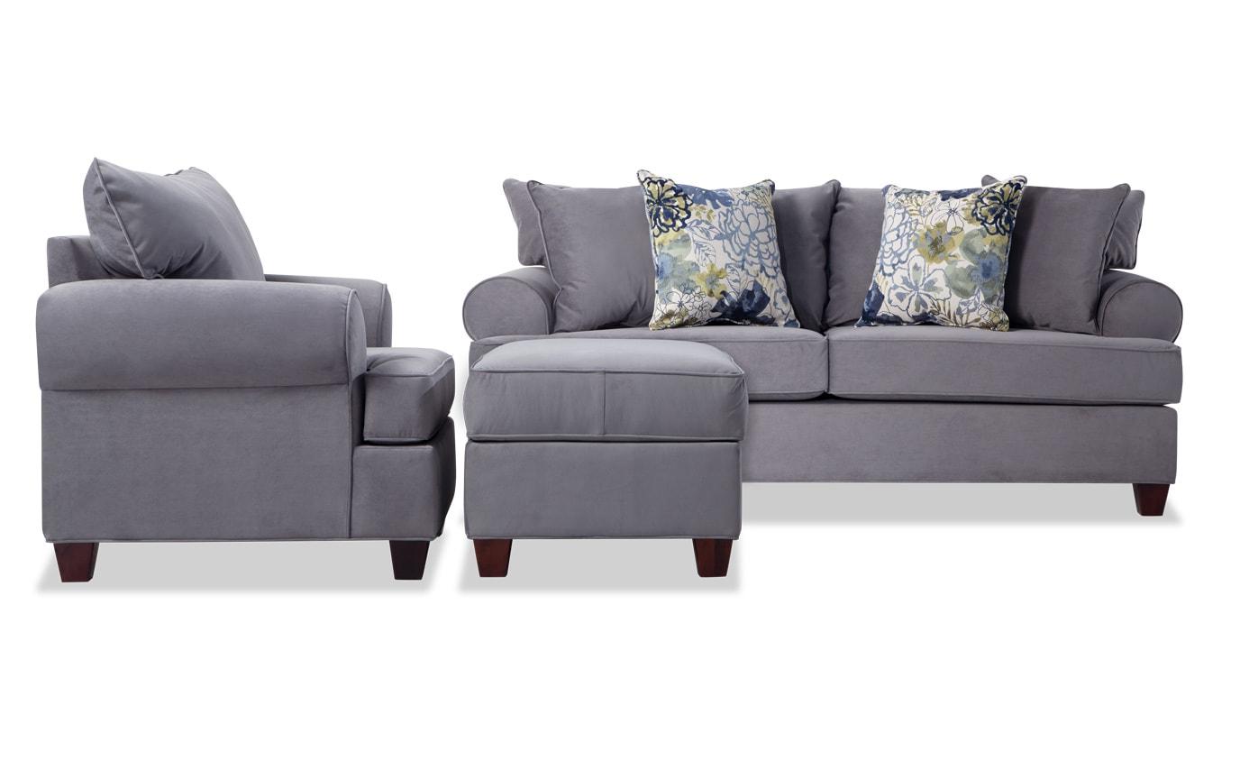Bob's Discount Furniture Regarding Sofa Chair And Ottoman (View 5 of 20)