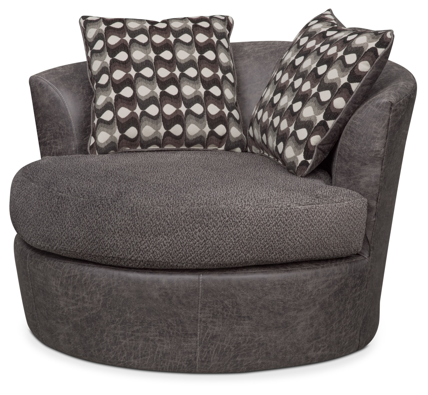Brando Swivel Swivel Chair (View 4 of 20)
