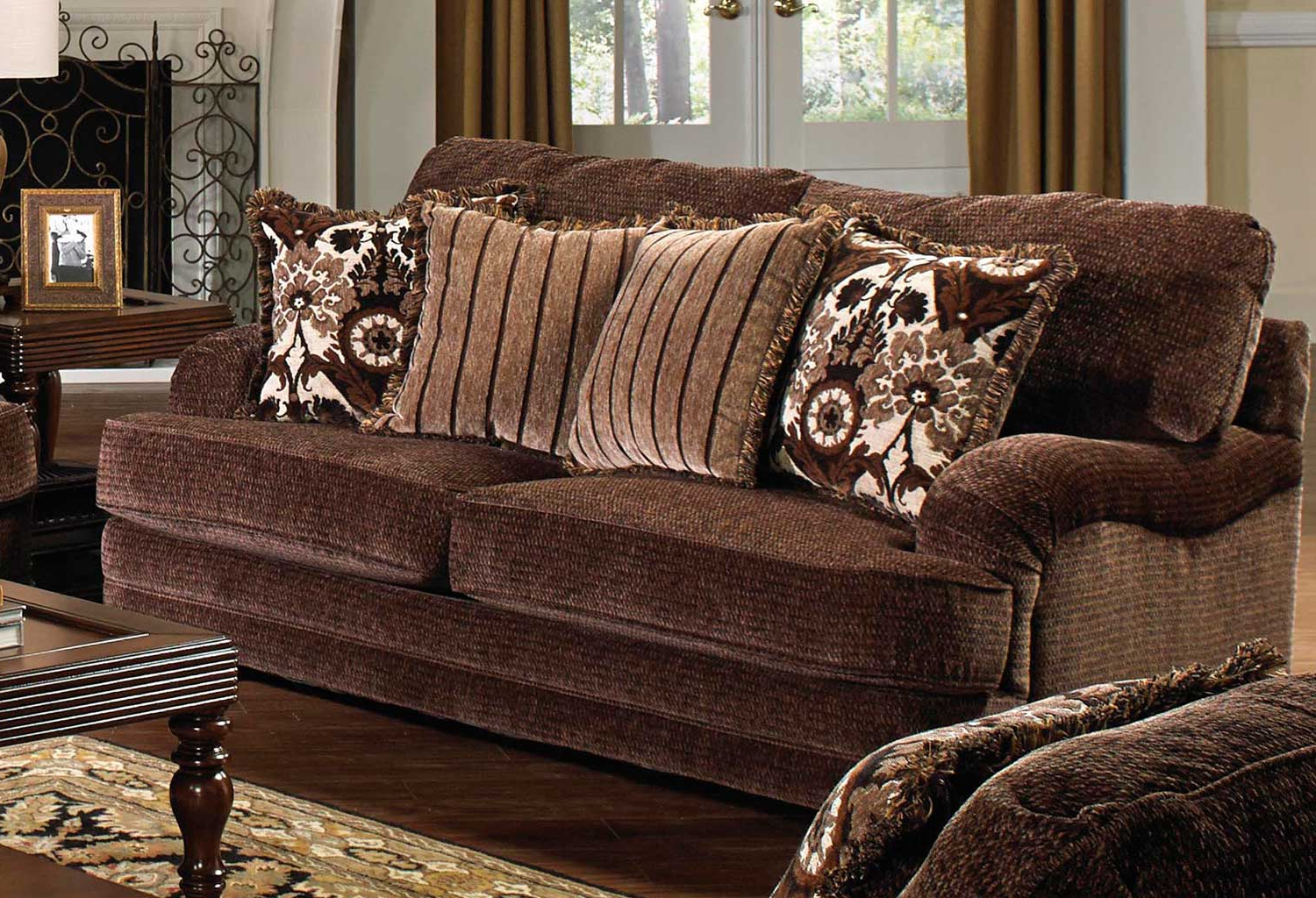 Brennan Sofa Chairs Throughout Most Up To Date Jackson Brennan Sofa Set – Espresso Jf 4438 Sofa Set Espresso At (Gallery 17 of 20)