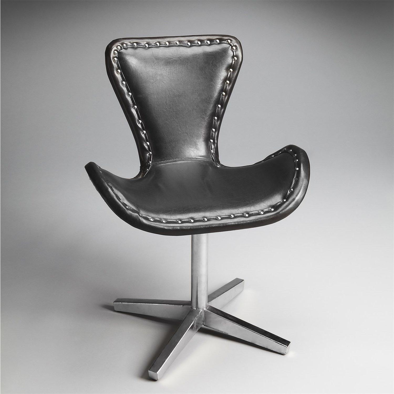 Butler 2702140 Loft Swivel Chair In Black (Gallery 3 of 20)