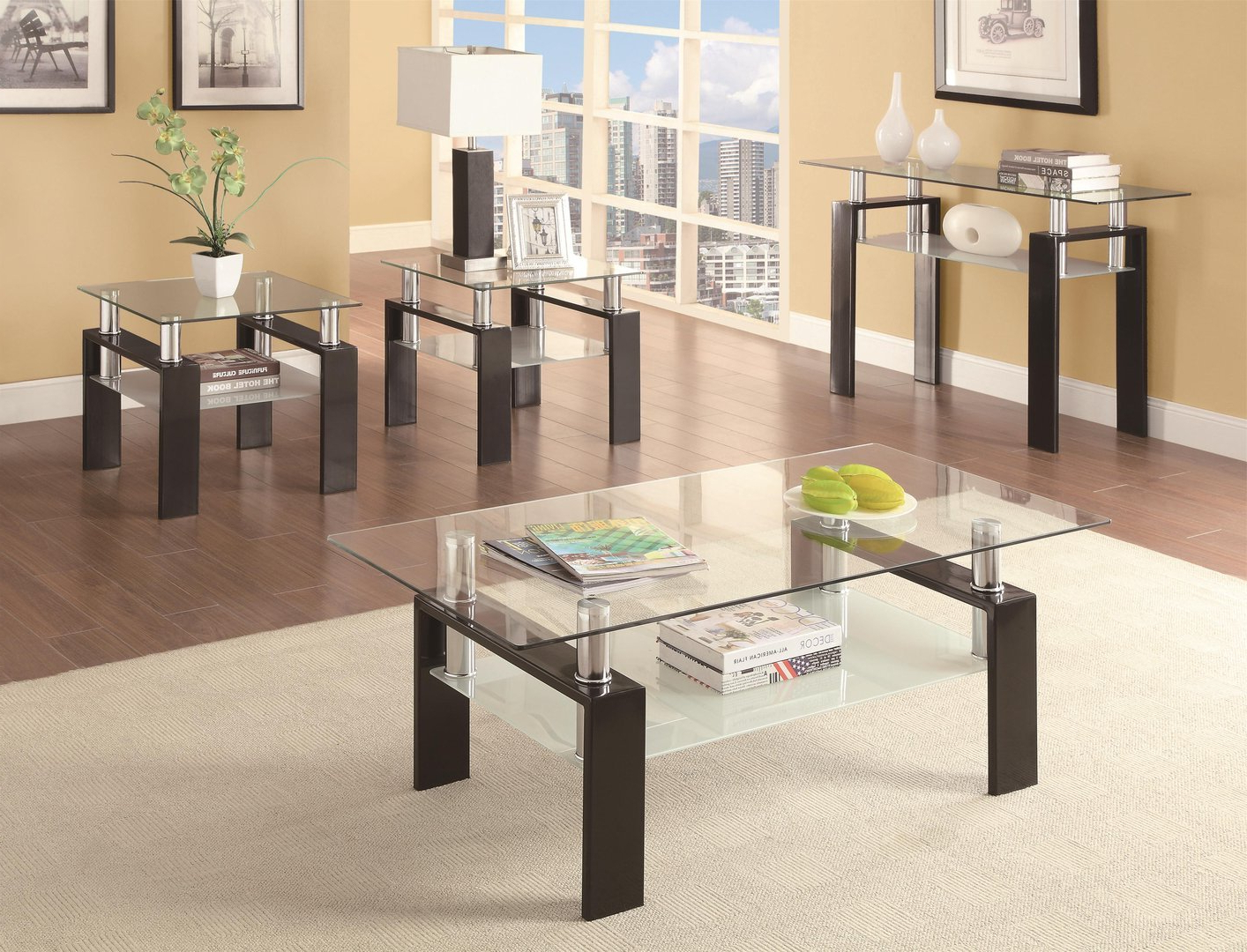 Catalunyateam Home Ideas : Glass Sofa Table With Sofa Table Chairs (View 7 of 20)