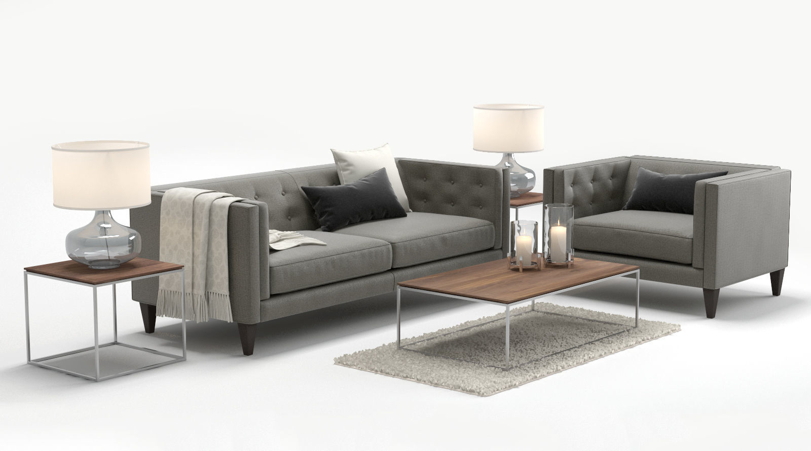 Featured Photo of Aidan Ii Sofa Chairs