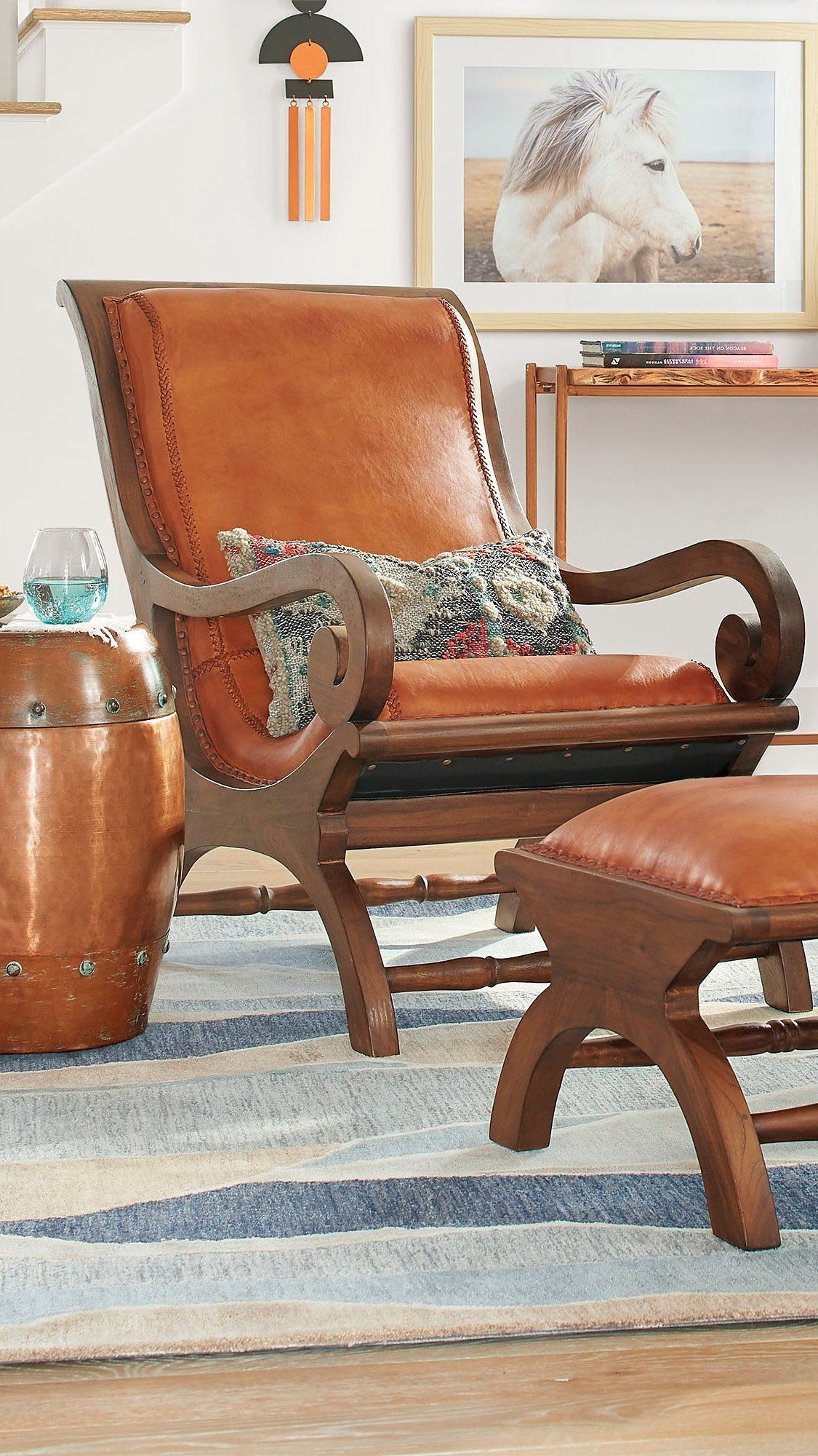 Chair Regarding Grandin Leather Sofa Chairs (View 2 of 20)