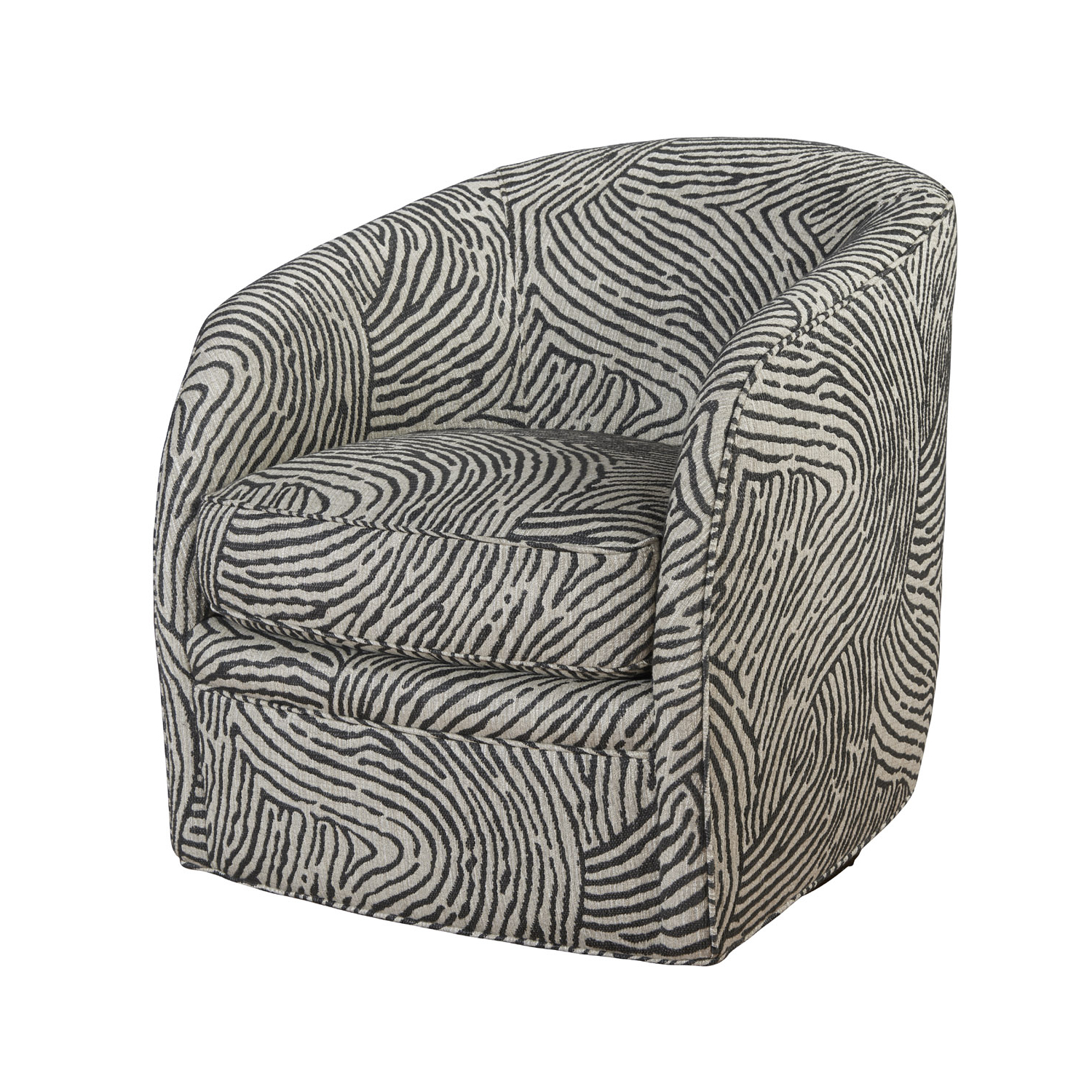 Charcoal Swivel Chairs In Most Recent Francesca Swivel Chair – Sunniva Charcoal (View 4 of 20)