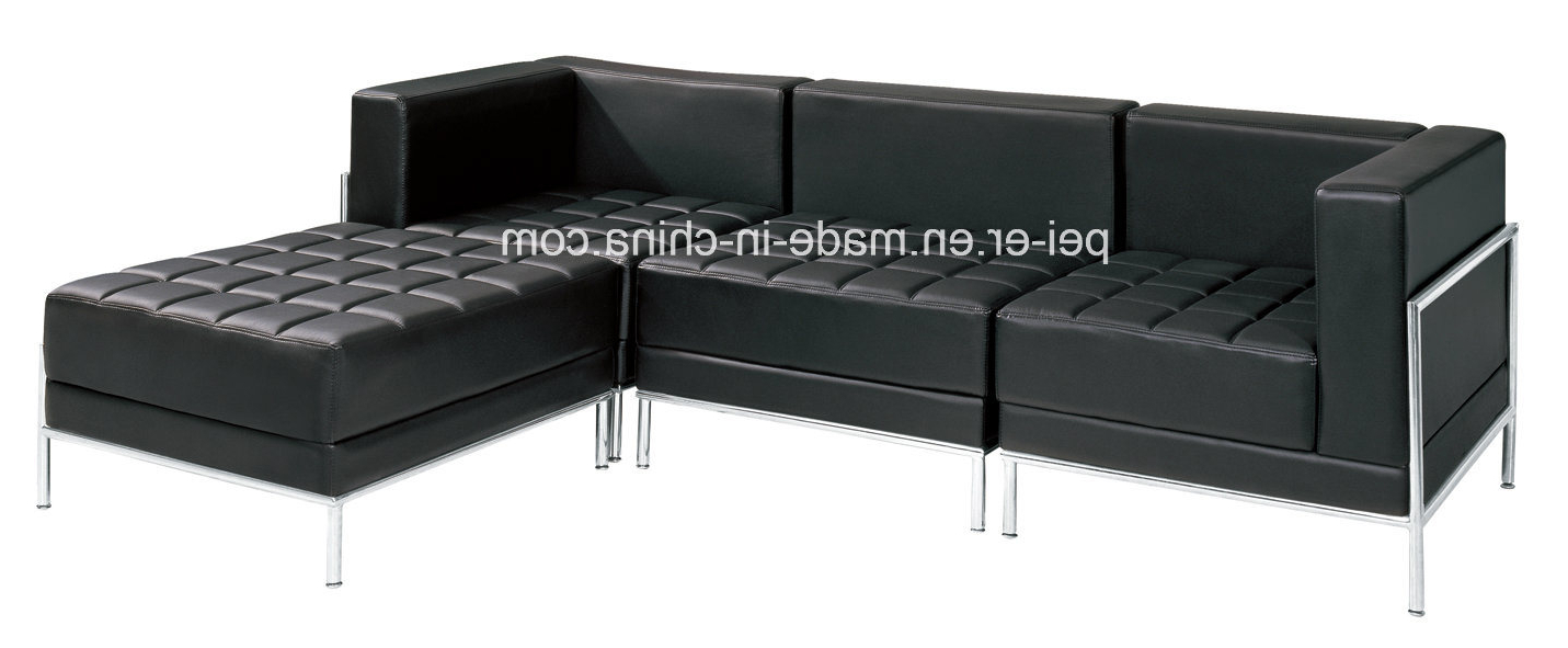 China Sofa Furniture Office Living Room Sectional Corner Leather Inside Famous Office Sofa Chairs (View 14 of 20)