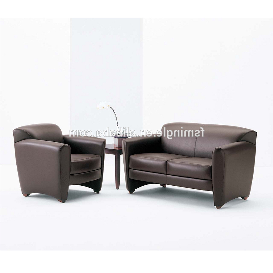Classic Design Leather Office Sofa Furniture Set For Director Office Pertaining To Newest Office Sofa Chairs (Gallery 1 of 20)