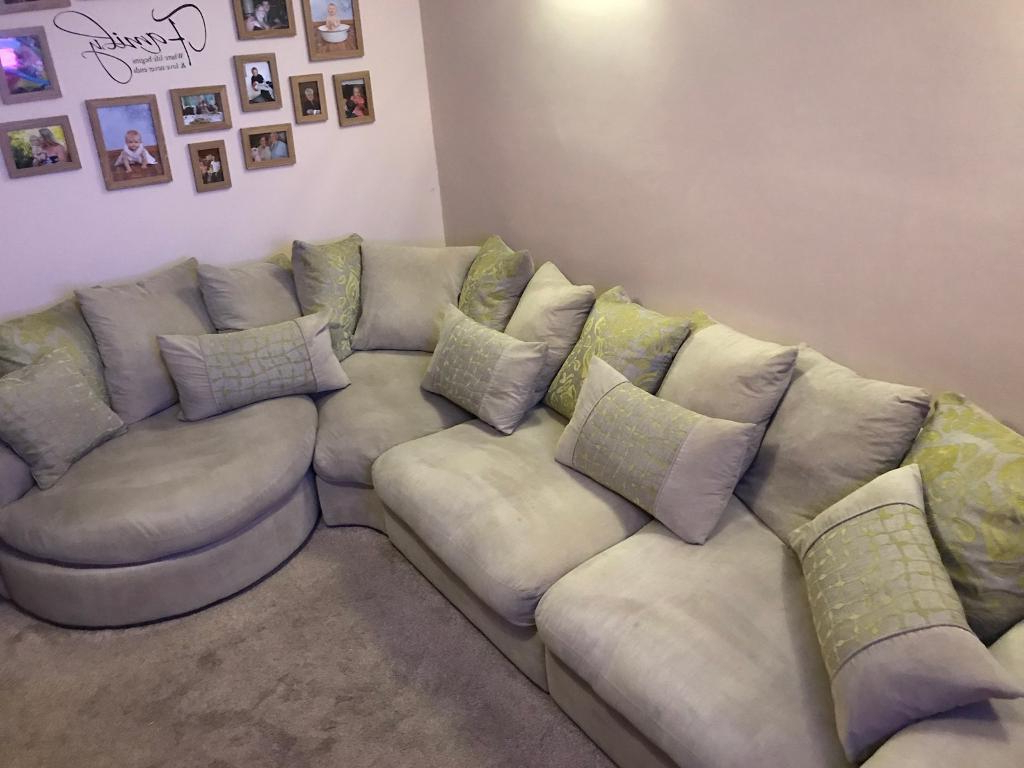 Corner Sofa And Swivel Chairs Throughout Widely Used Corner Sofa/swivel Chair And Separate Chair (Gallery 17 of 20)