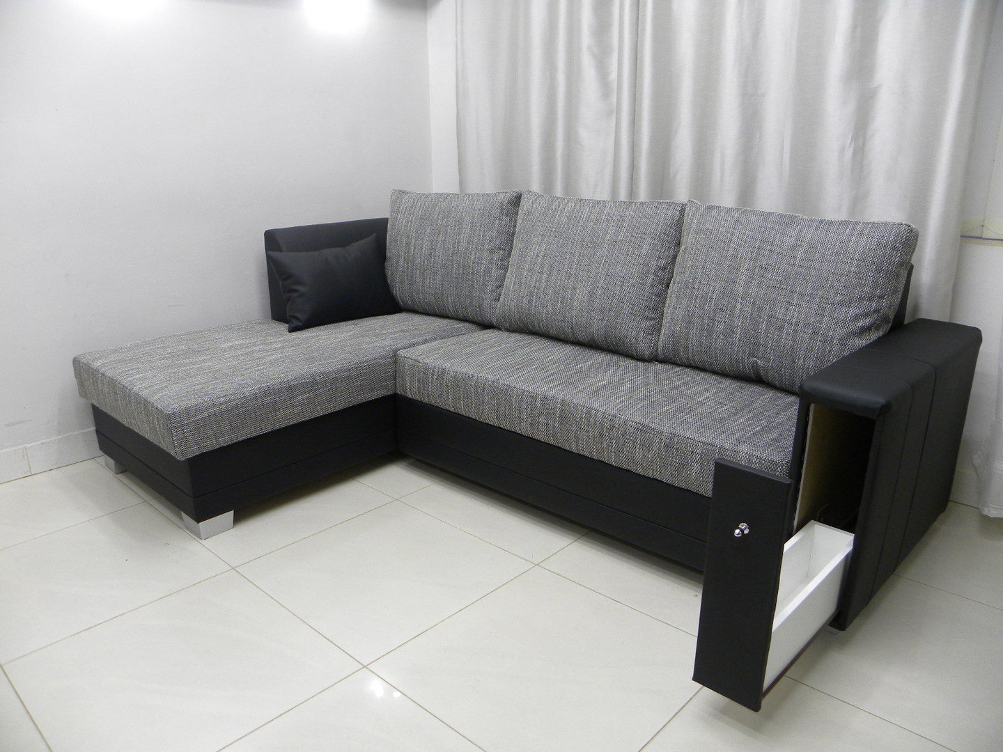 Corner Sofa Bed ''flame'' With A Single Chair Sofa Bed With Regard To Most Current Single Chair Sofa Bed (View 4 of 20)