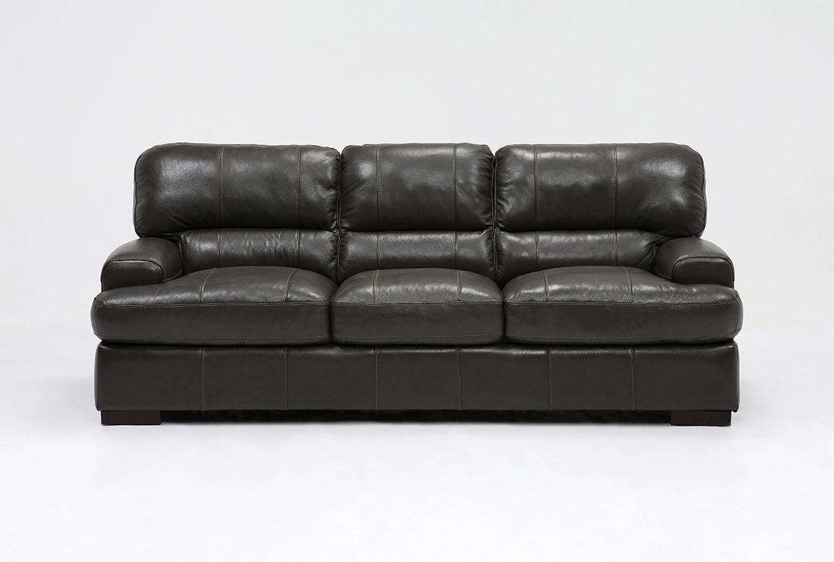 Current Andrew Leather Sofa (Gallery 3 of 20)