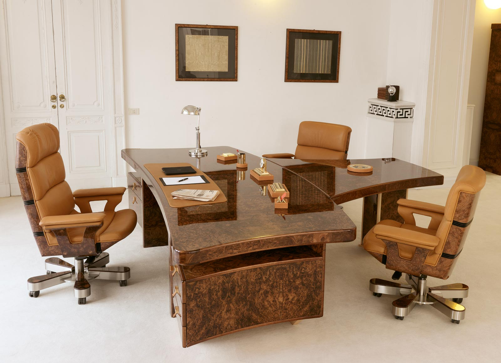 Current Executive And Presidential Luxury Office – R.a. Mobili Regarding Sofa Desk Chairs (Gallery 14 of 20)