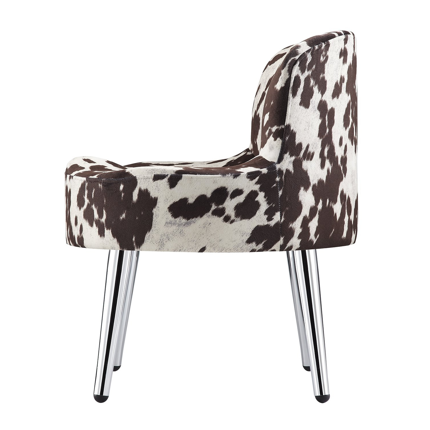 Current Shop Tribecca Home Bridgeport Ergonomic Contour Cowhide Fabric With Regard To Circuit Swivel Accent Chairs (View 14 of 20)