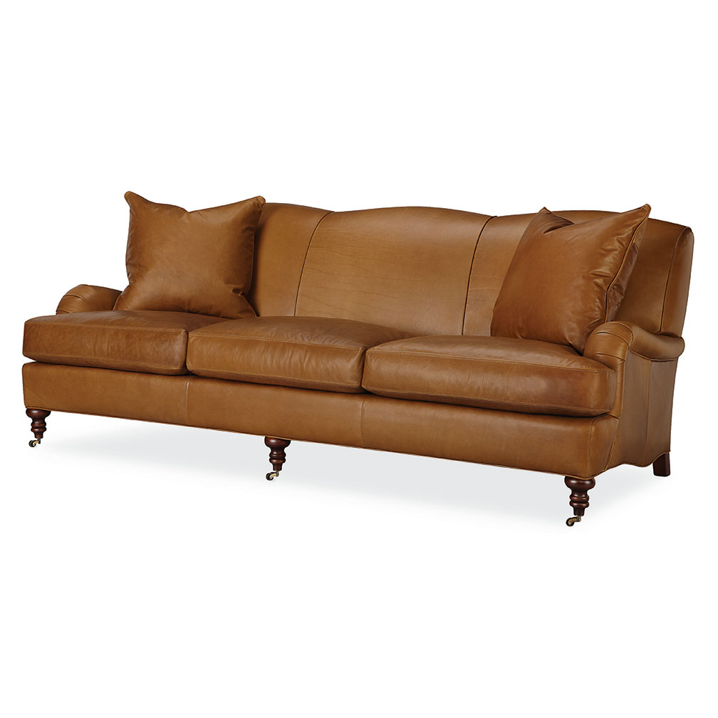 Current Tate Leather Sofa – Luxe Home Company Within Tate Ii Sofa Chairs (Gallery 9 of 20)