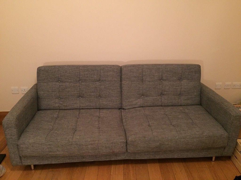 Dark Grey Sofa Bed (View 3 of 20)