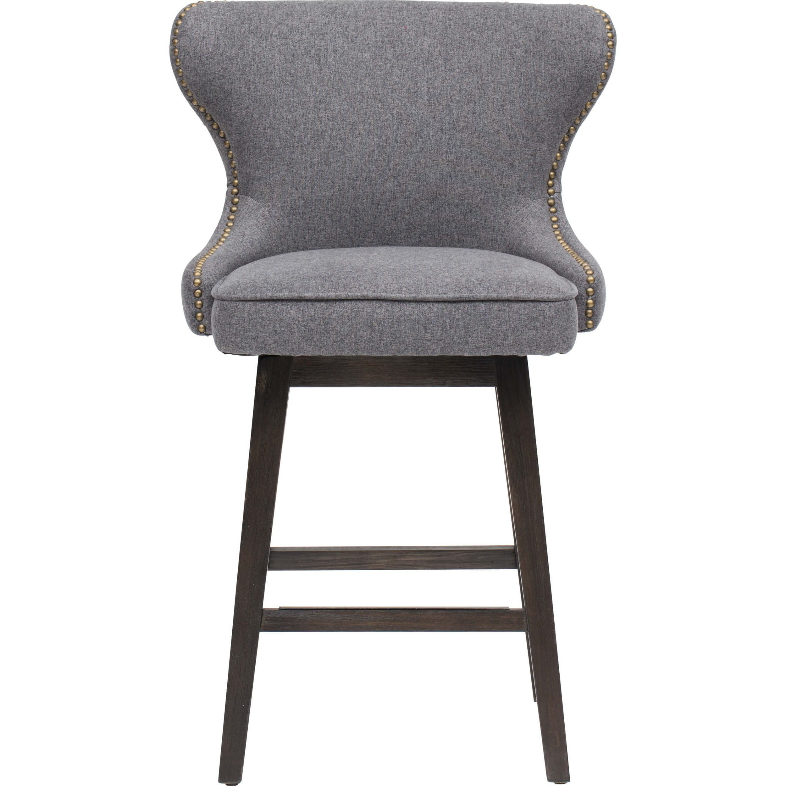 Dark Grey Swivel Chairs Intended For Most Recent Ariana Swivel Counter Stool, Dark Grey – Dining Stools – Dining (View 6 of 20)
